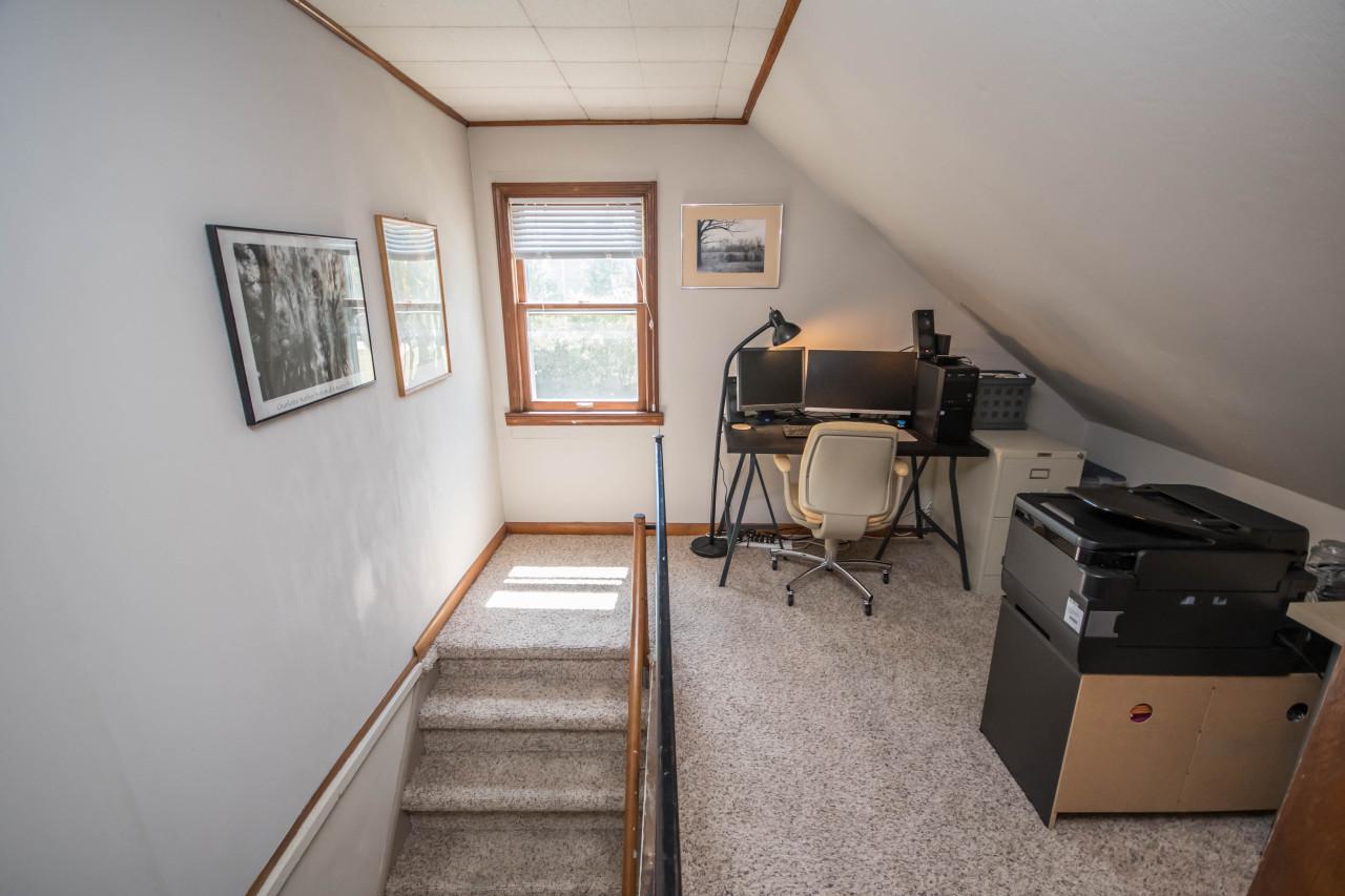 Home officeloft area