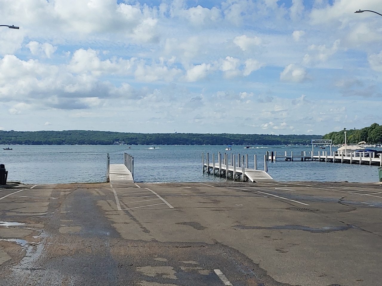 Williams Bay Boat Ramp