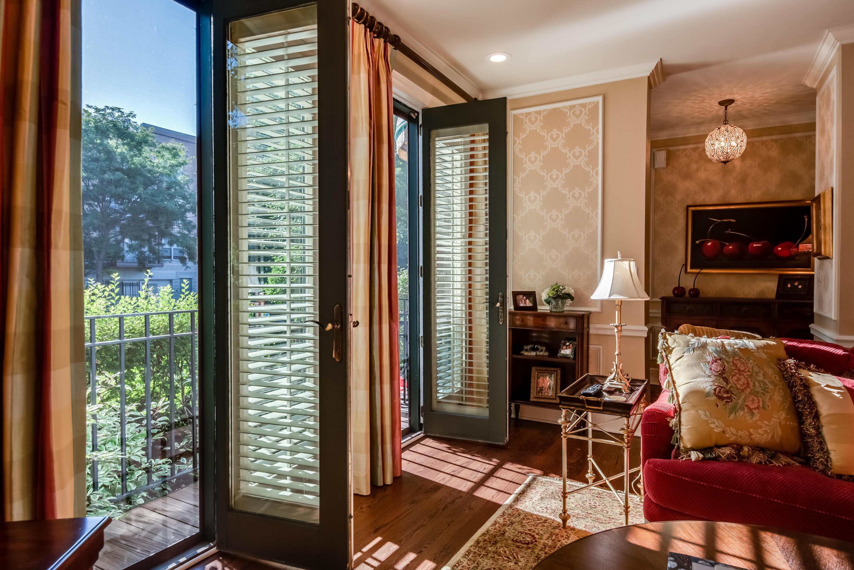 French Doors in Living Room