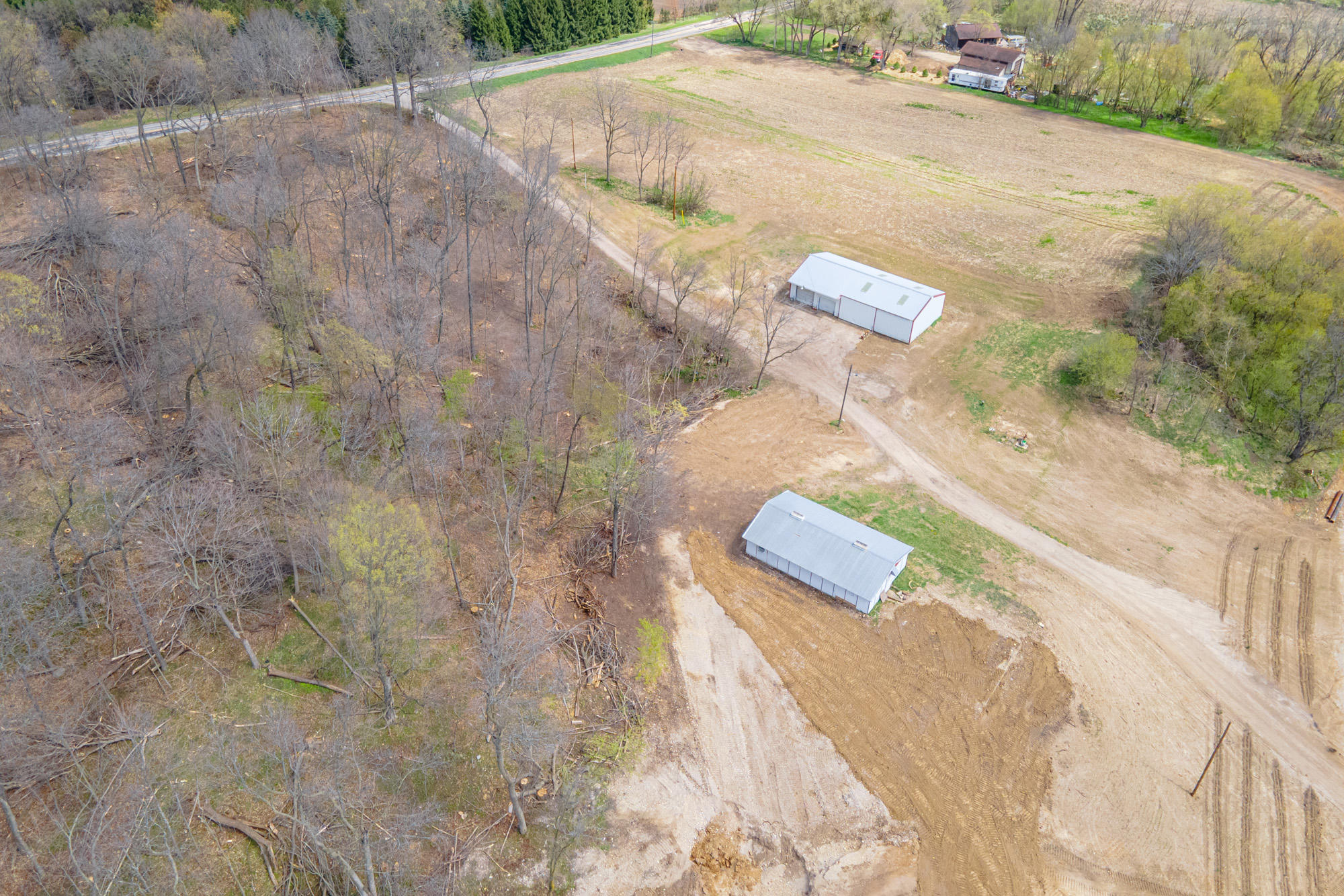 3 Acres with 2 sheds (4)