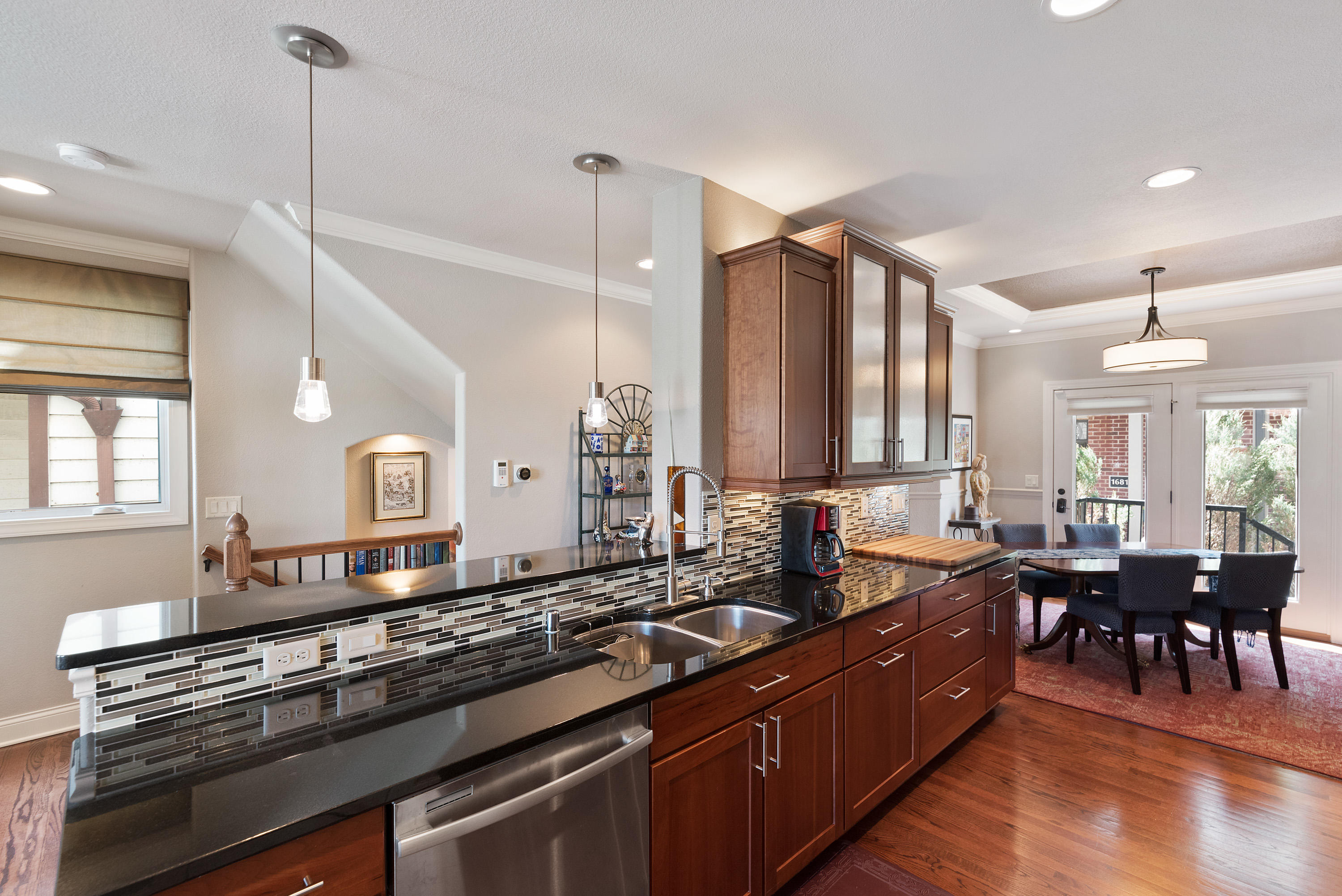 Upgraded Cabinetry w/Granite Counters