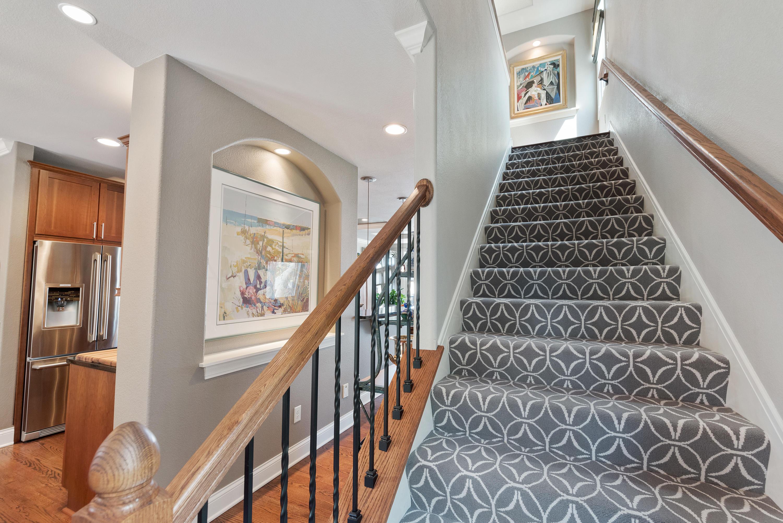 Carpeted Stairway to 3rd Floor