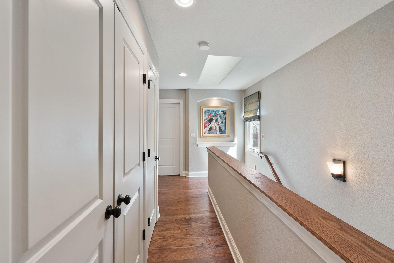 Skylit  Hallway Keeps Everything Bright!