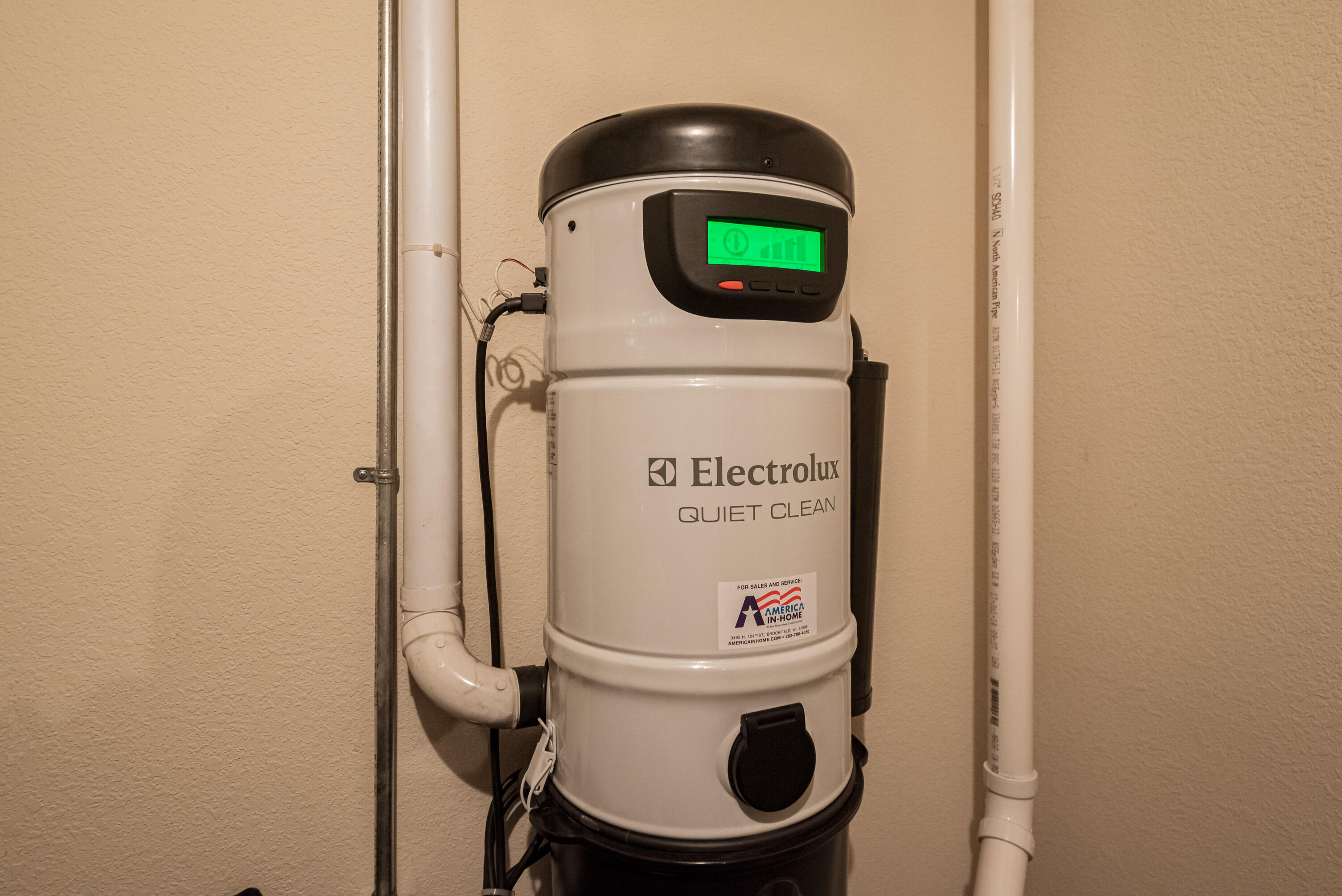 Easy Maintenance with Central Vacuum