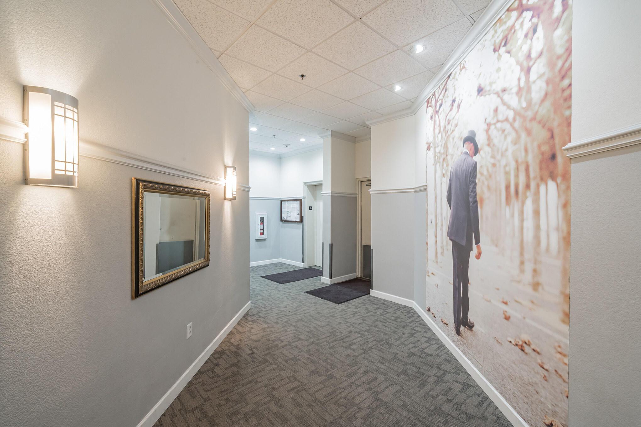 1st Floor Lobby Hallway