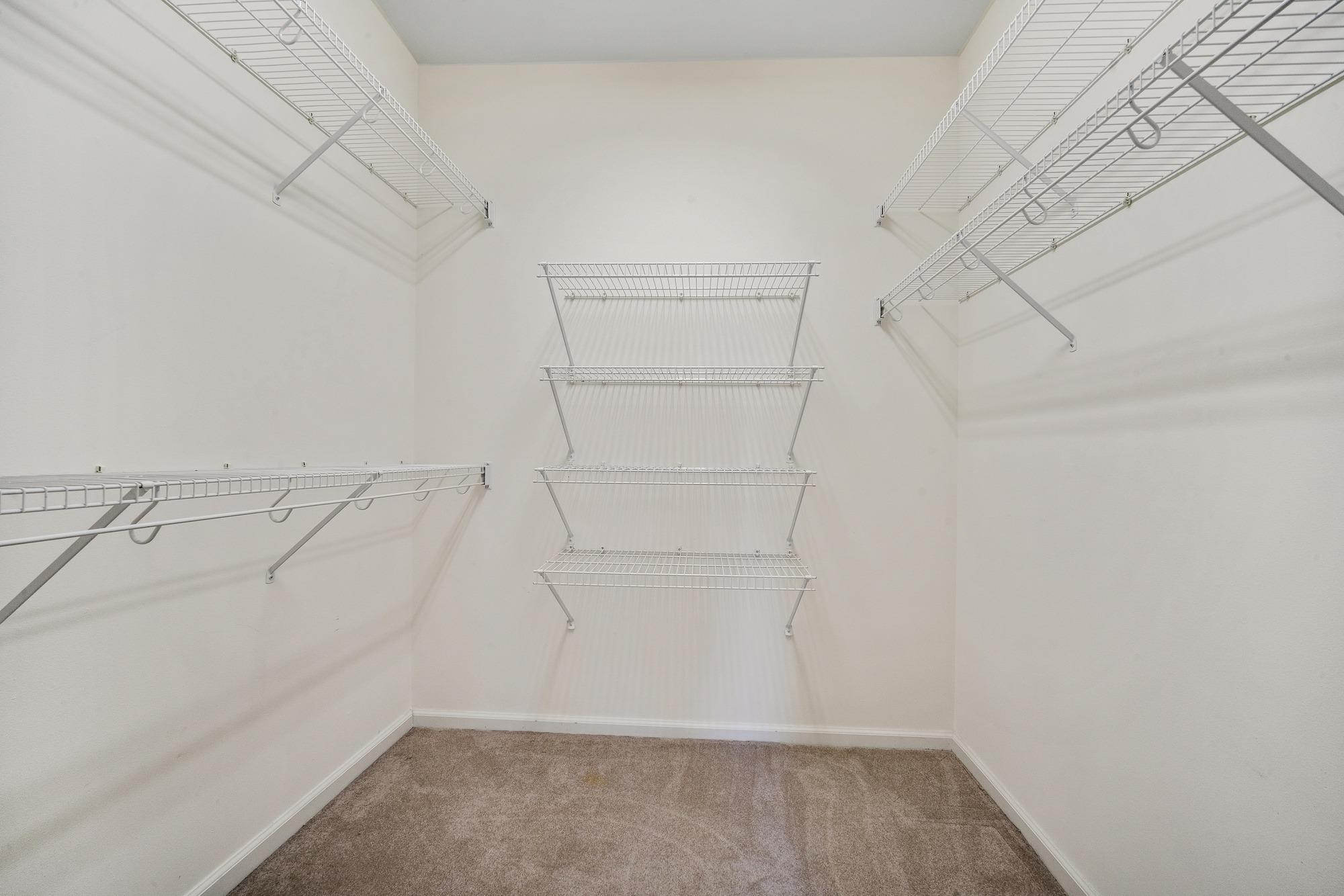 1st floor walk in closet
