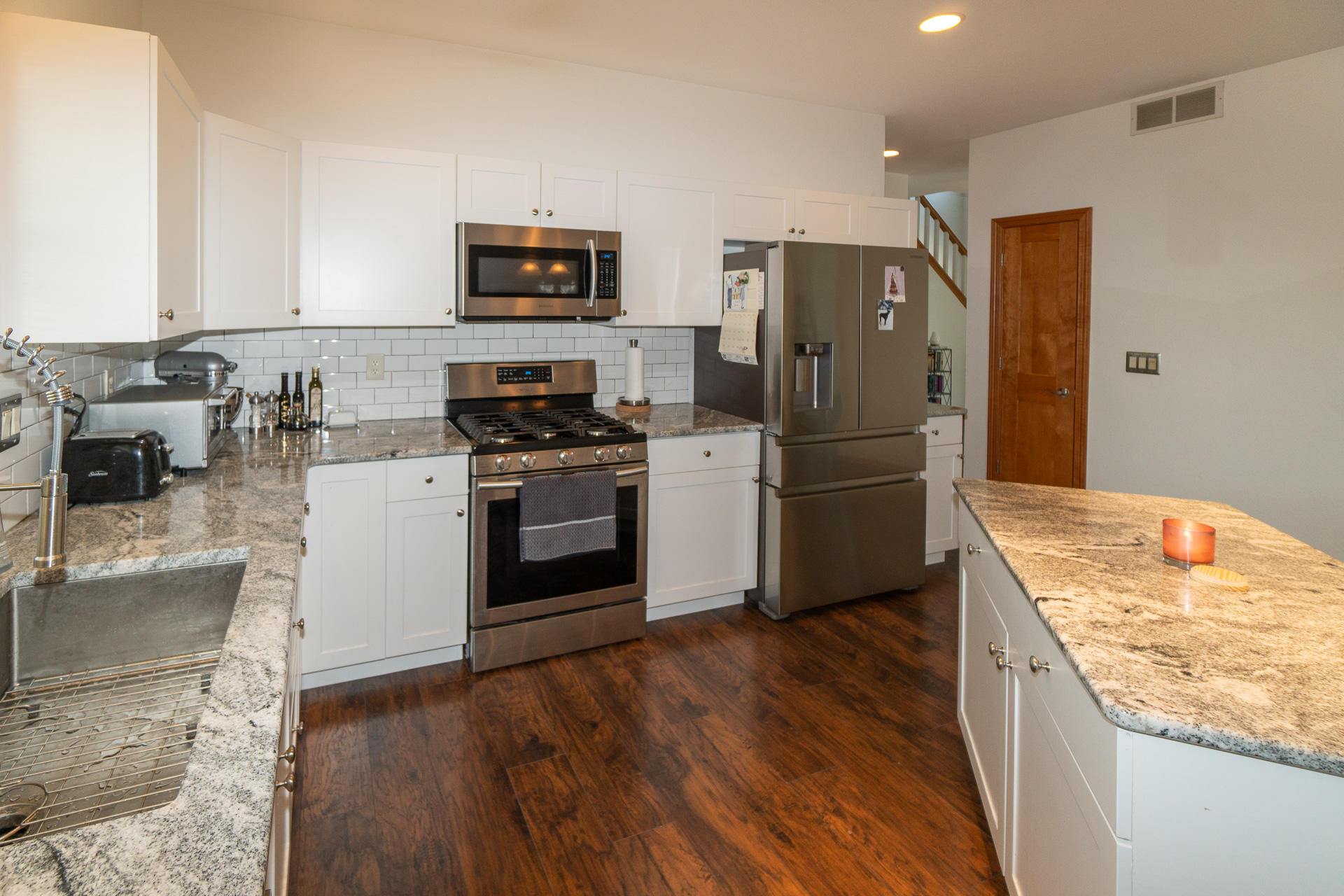 Kitchen + Stainless Appliances