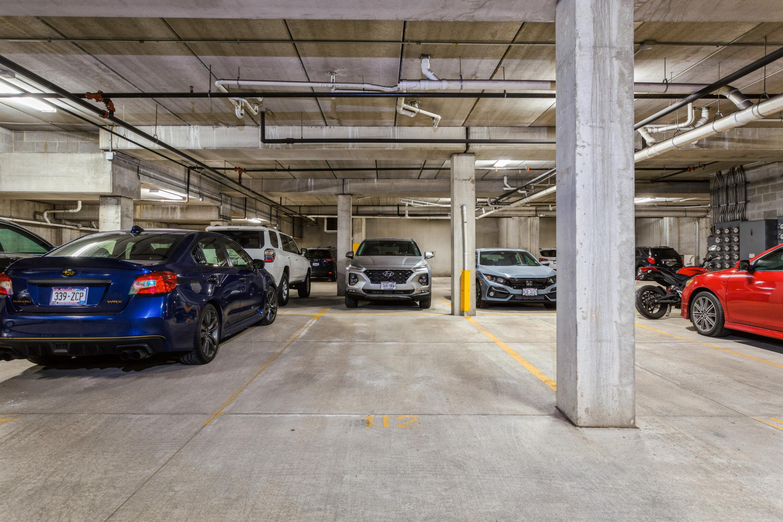14_Underground Garage Parking Space