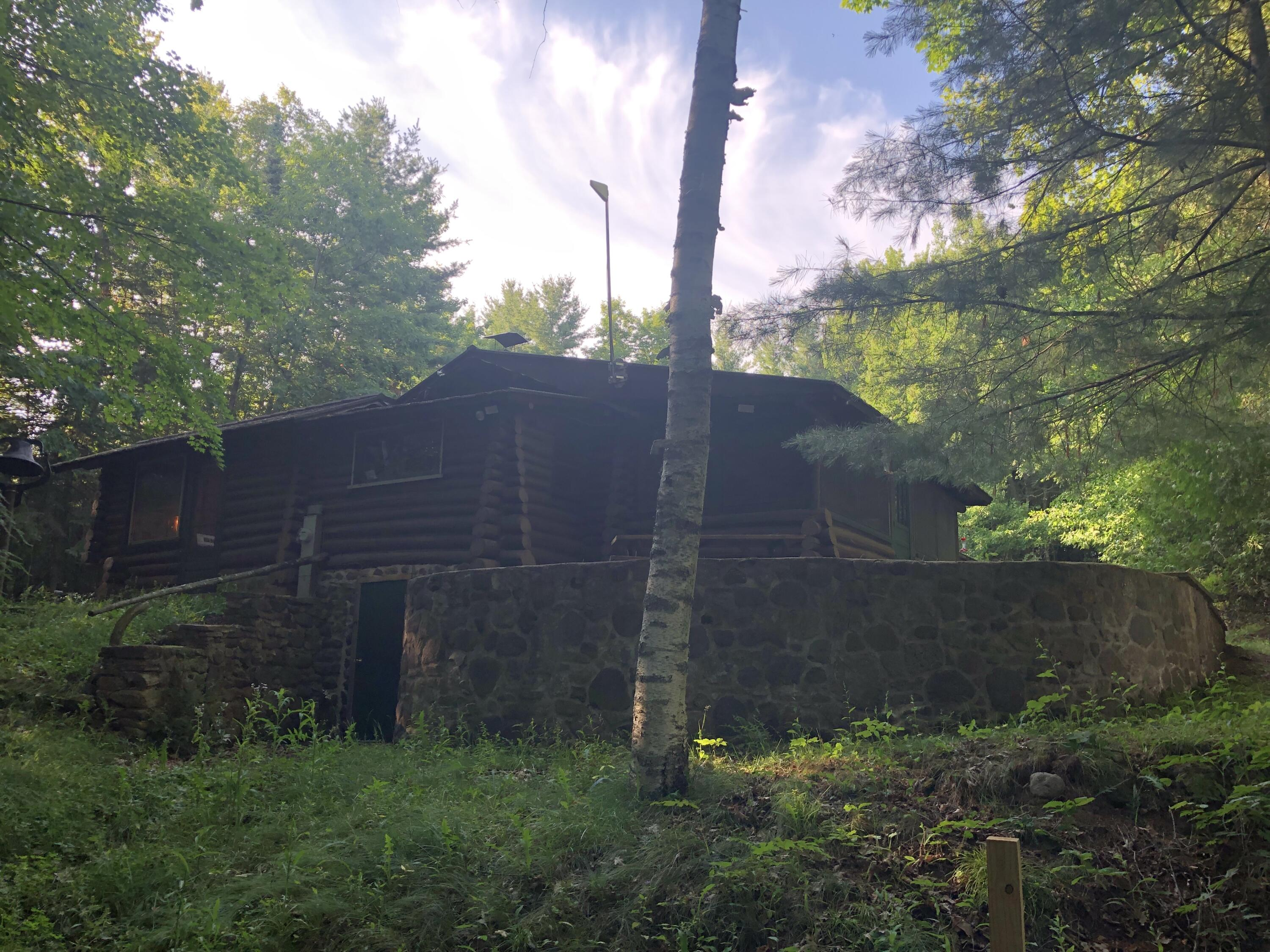 Cabin rear to North