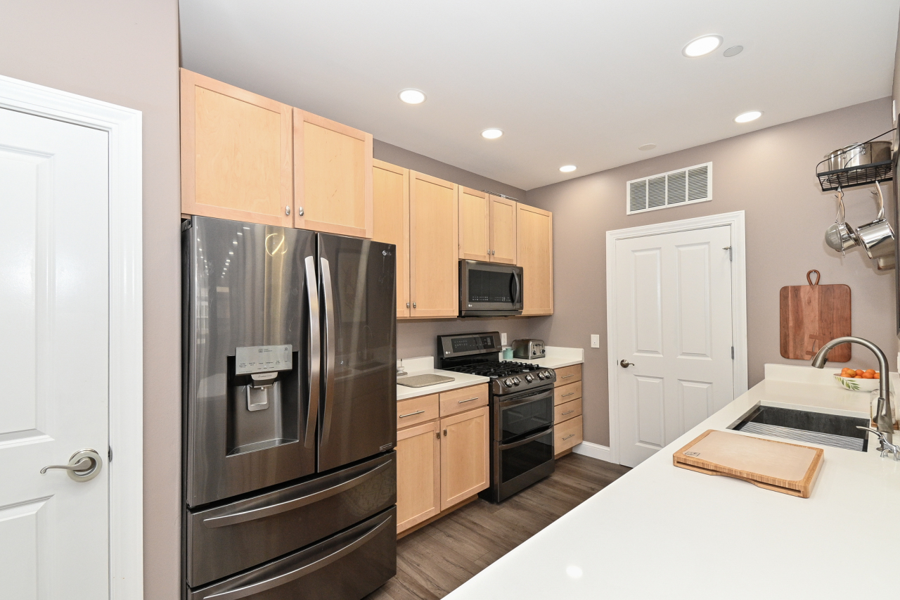 New Black Stainless Appliances