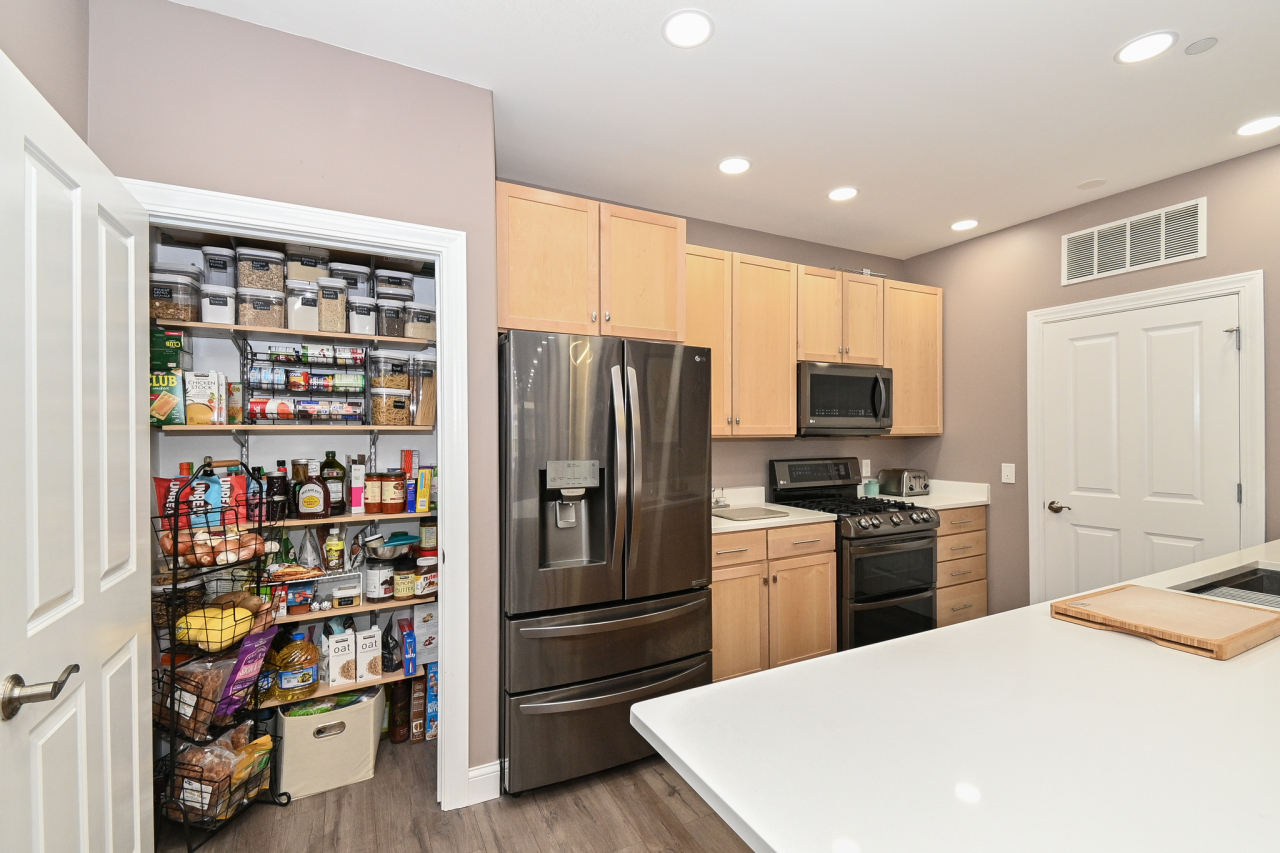 Large Built-in Pantry