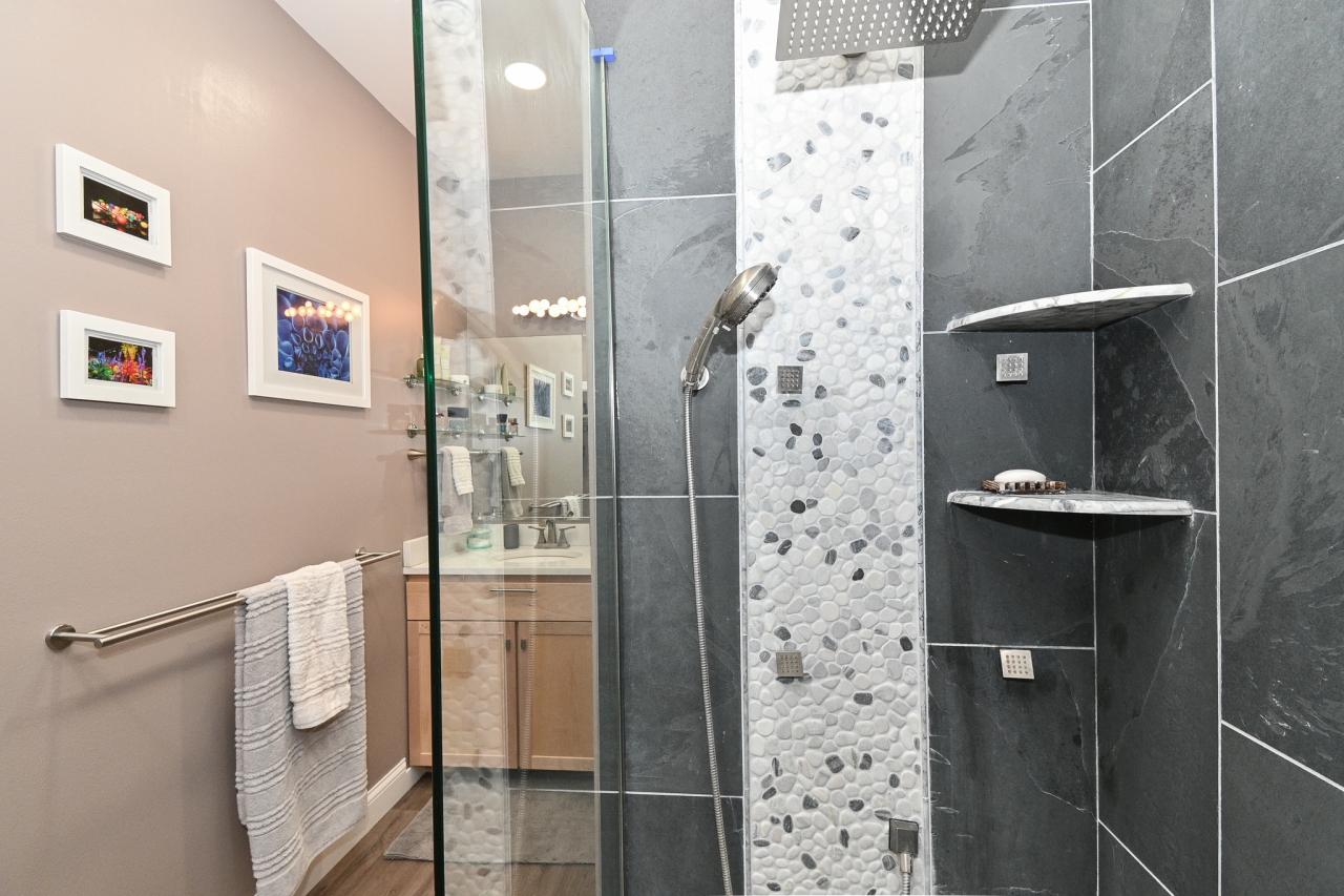 Poured Concerete Shower Base