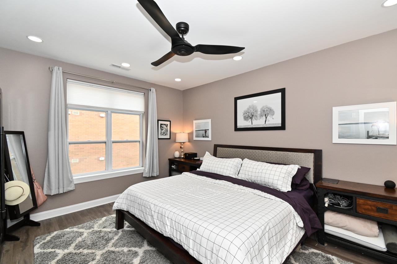 Large East-Facing Bedroom