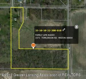 Property for sale at 1571 Tomlinson Road, Mason,  MI 48854