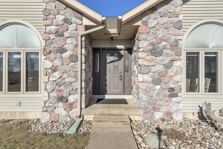 Front door:  8558 Ironstone Drive