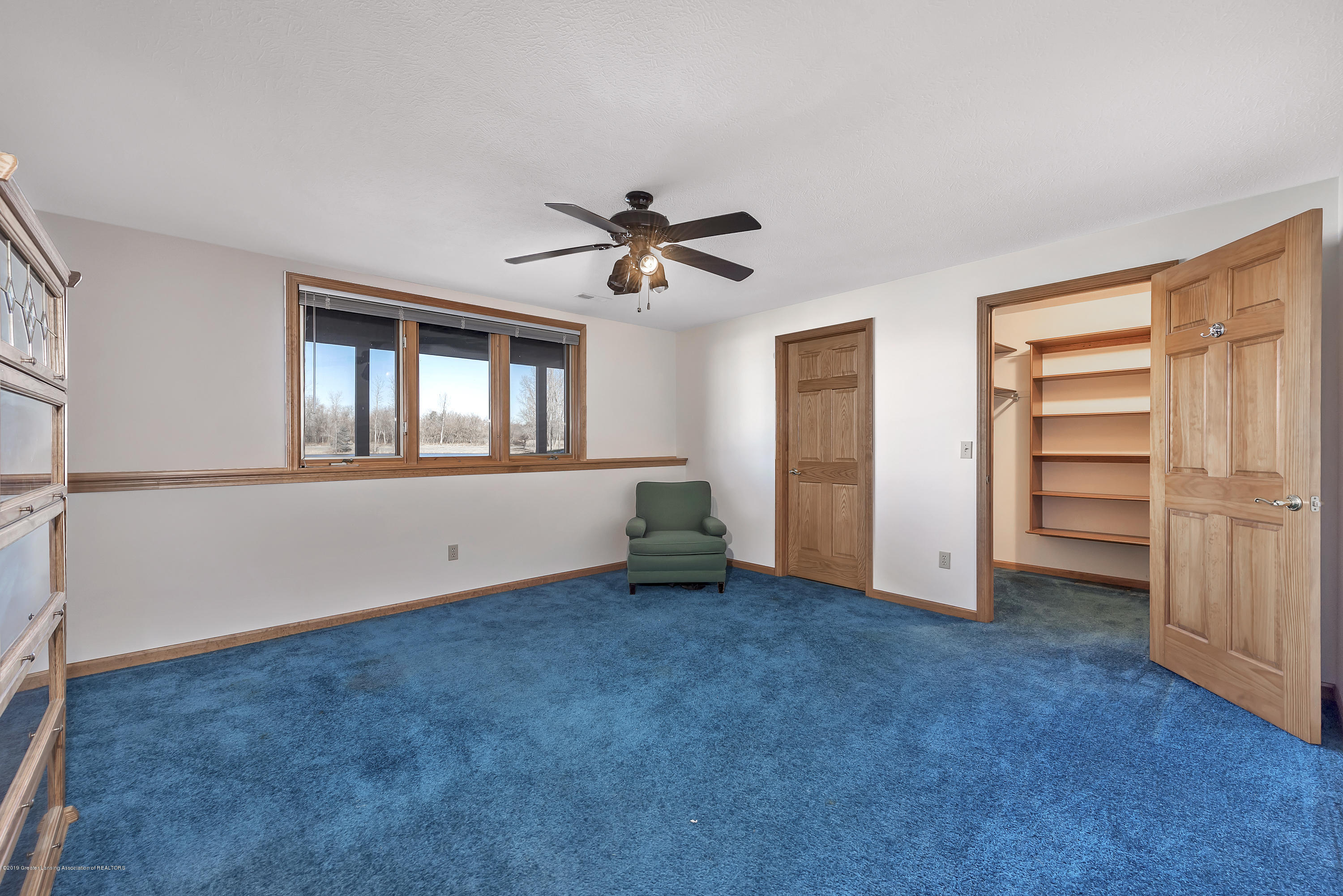 Lower Level bedroom with walk in closet:  8558 Ironstone Drive