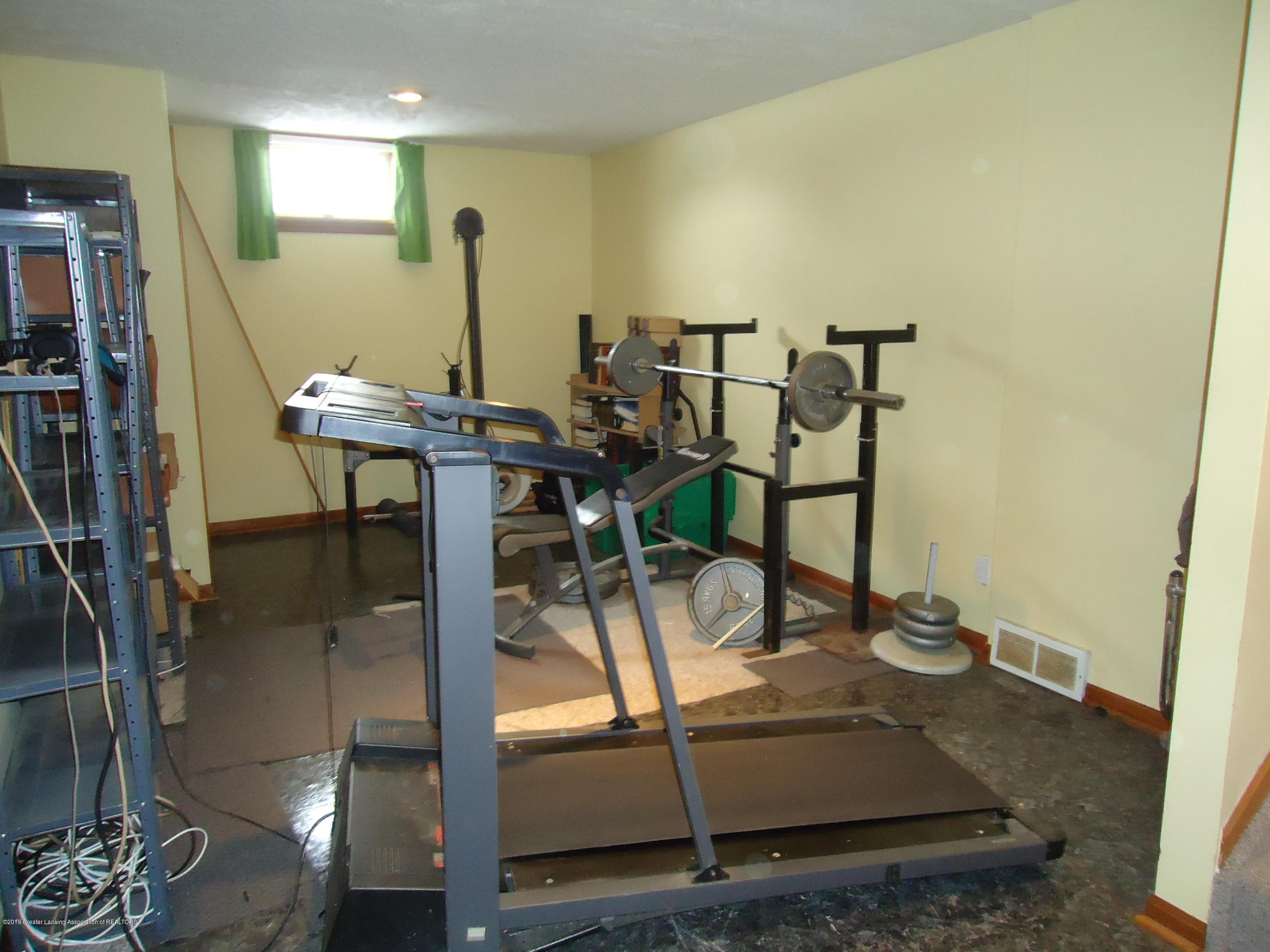 Exercise Rm:  130 Canterbury Drive