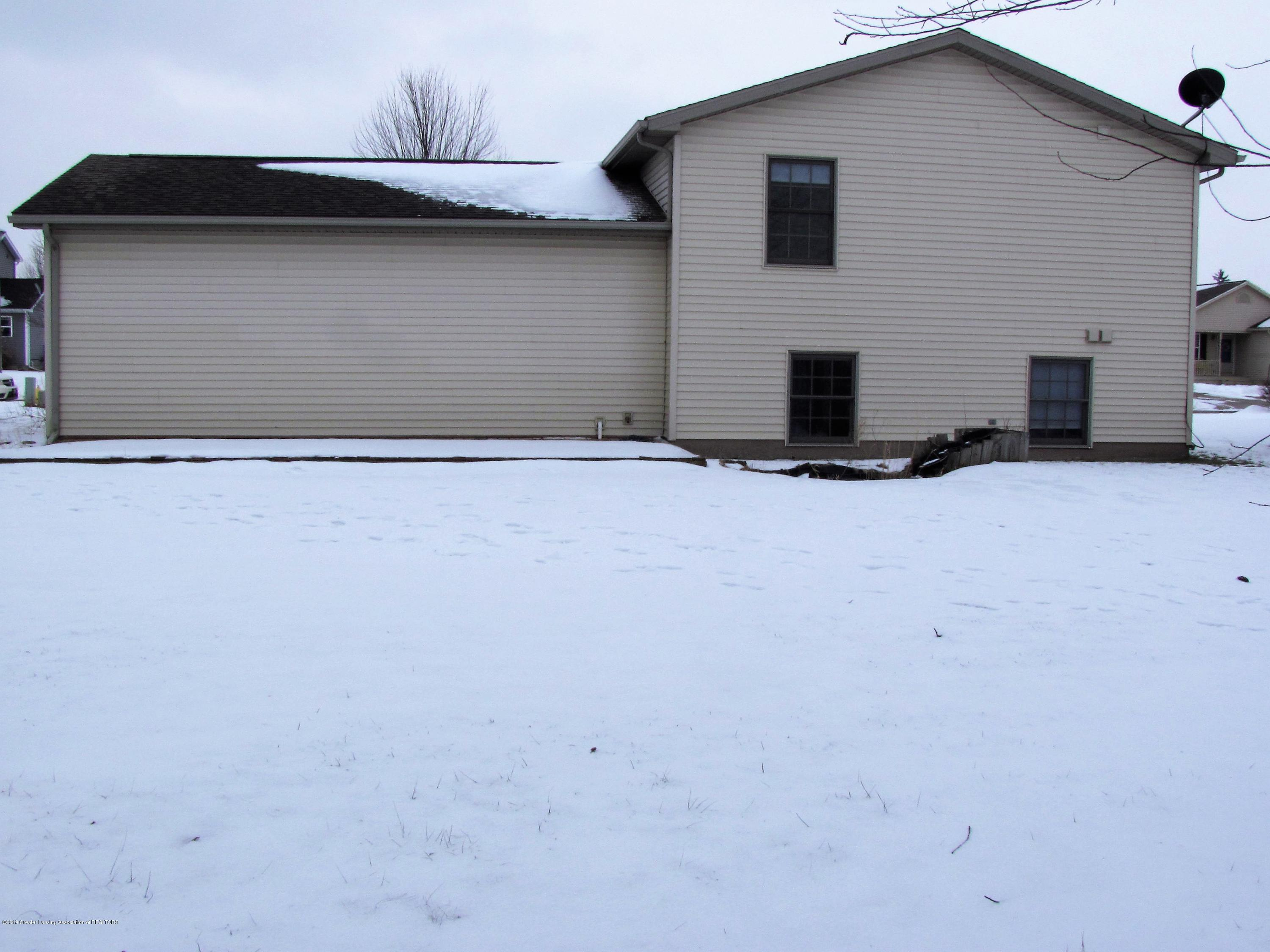 Back of home:  1180 Porter Drive