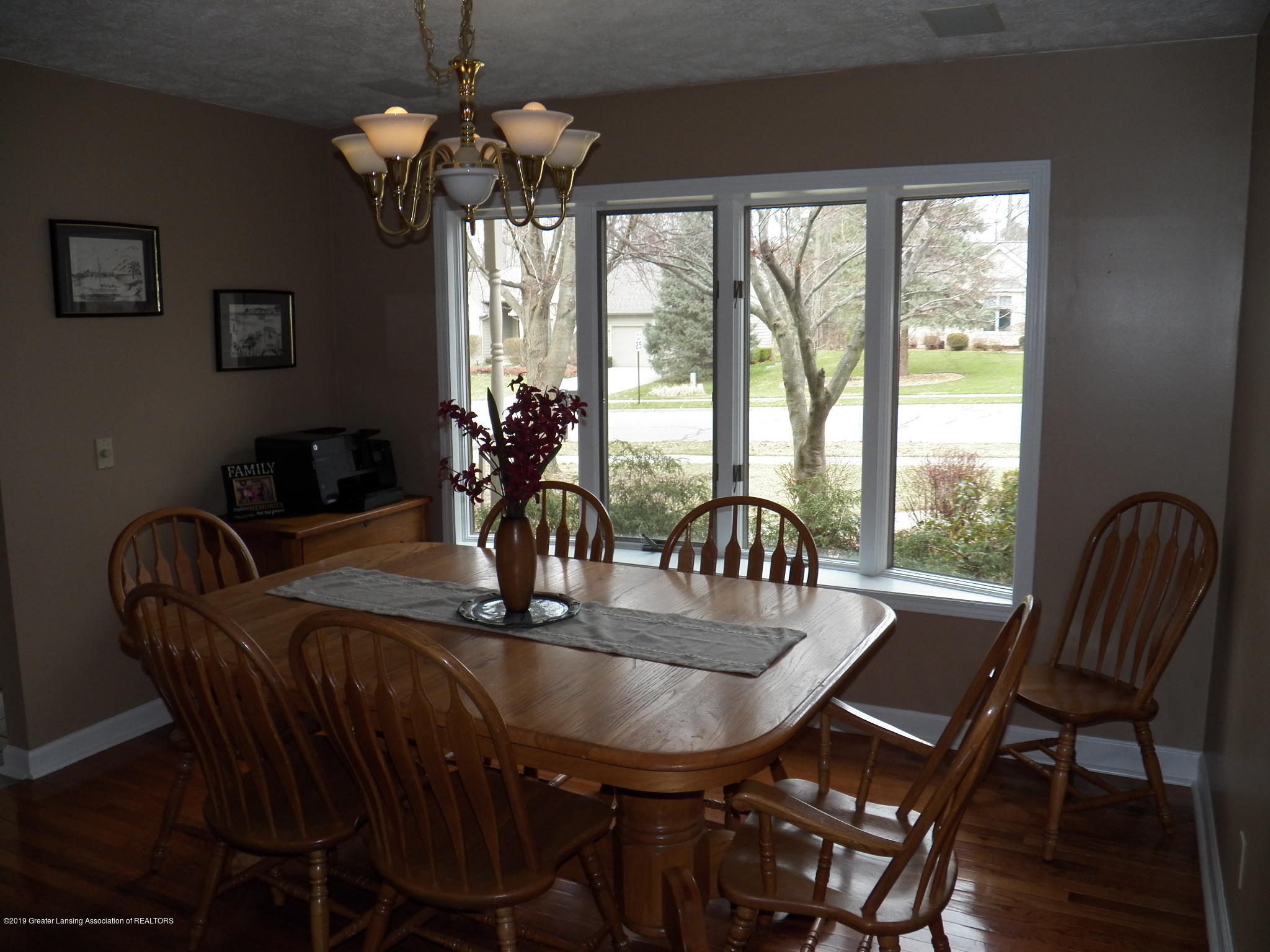 dining room:  5723 Westminster Way
