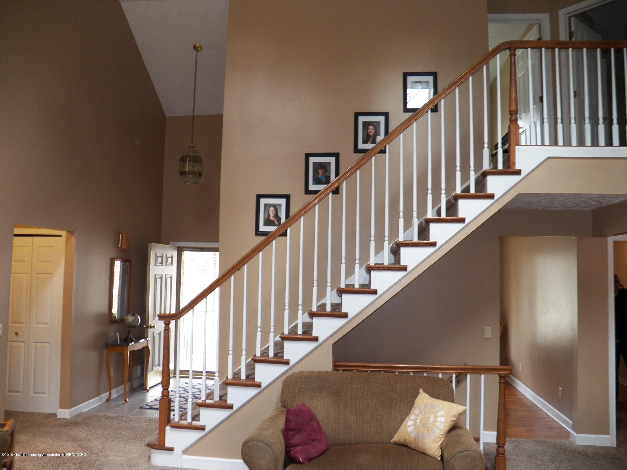 staircase:  5723 Westminster Way