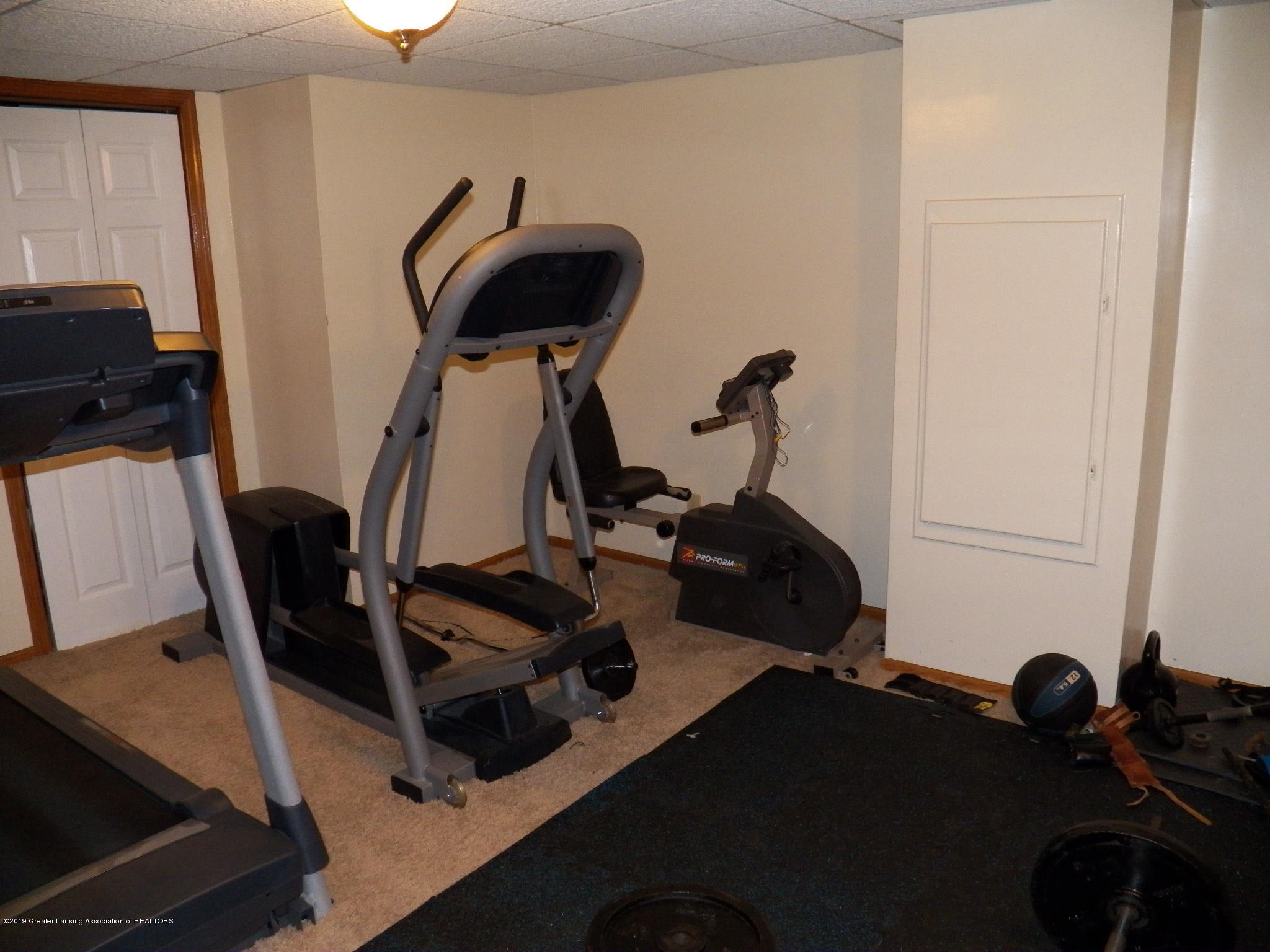 work out room:  5723 Westminster Way