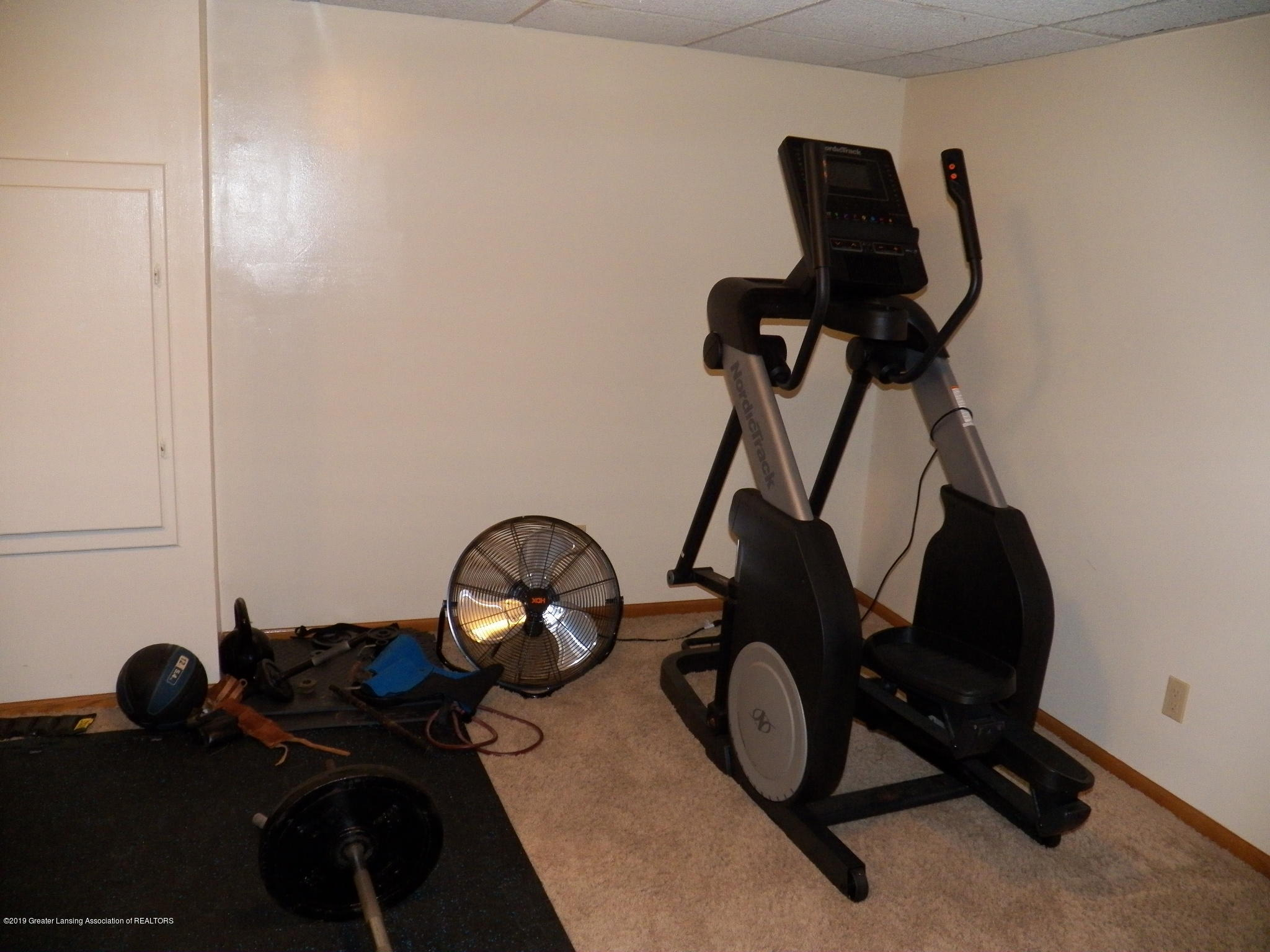 work out area:  5723 Westminster Way