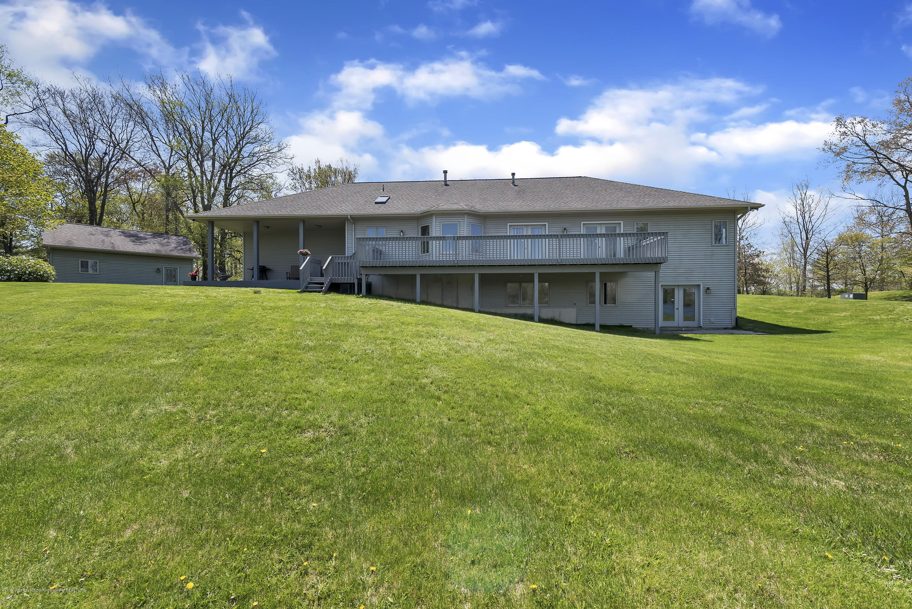 Back View:  8558 Ironstone Drive