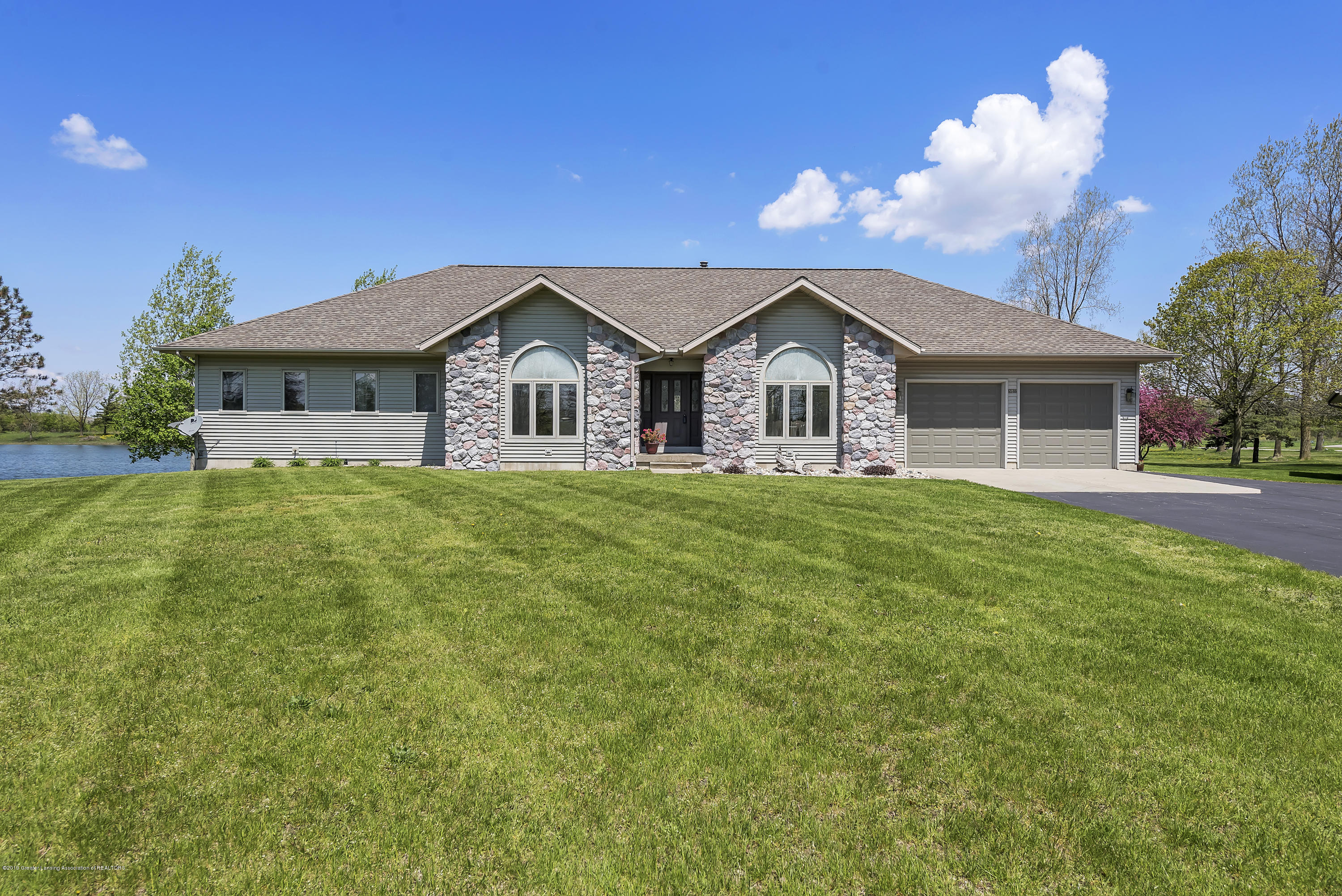 Front View:  8558 Ironstone Drive