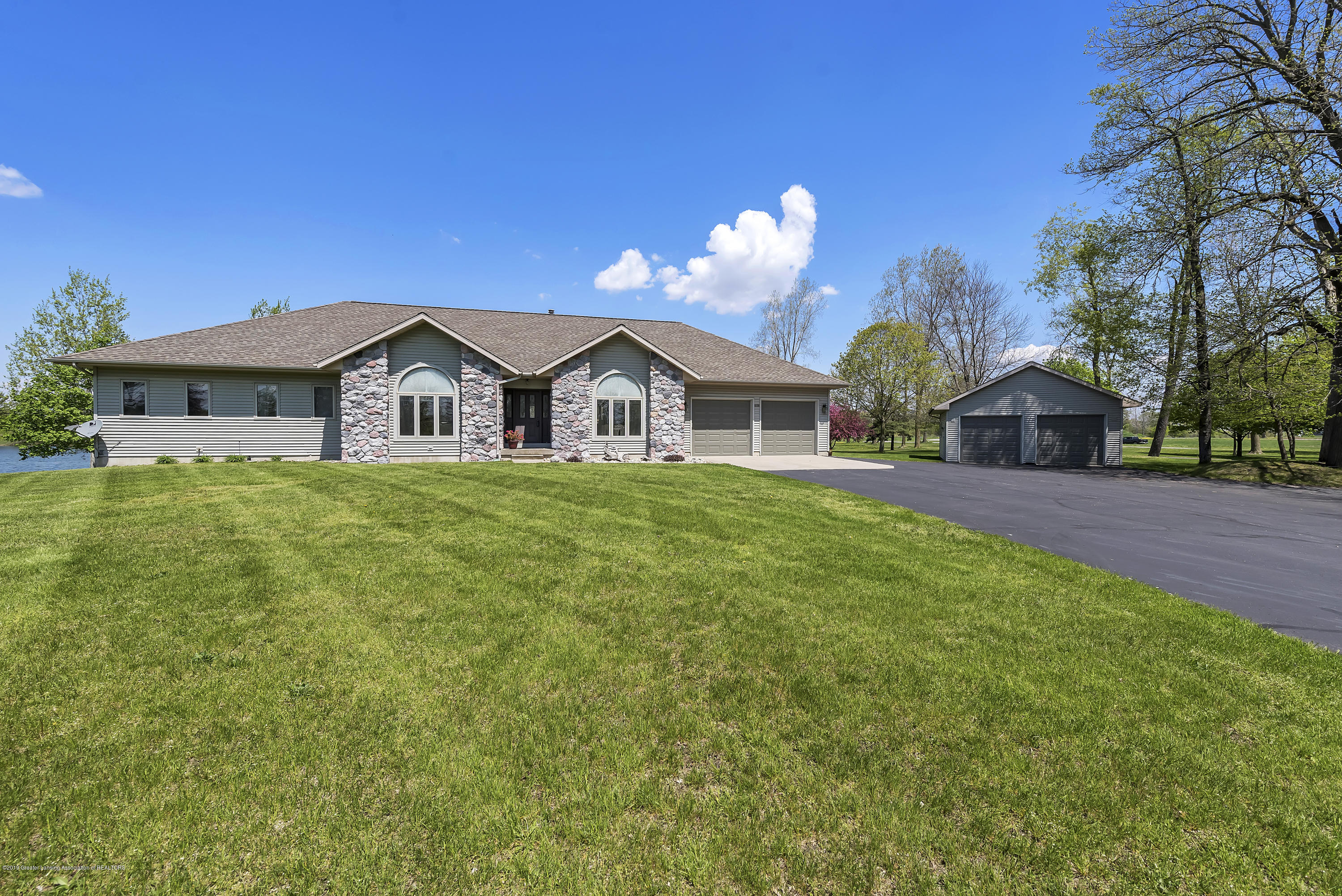 Front View+:  8558 Ironstone Drive