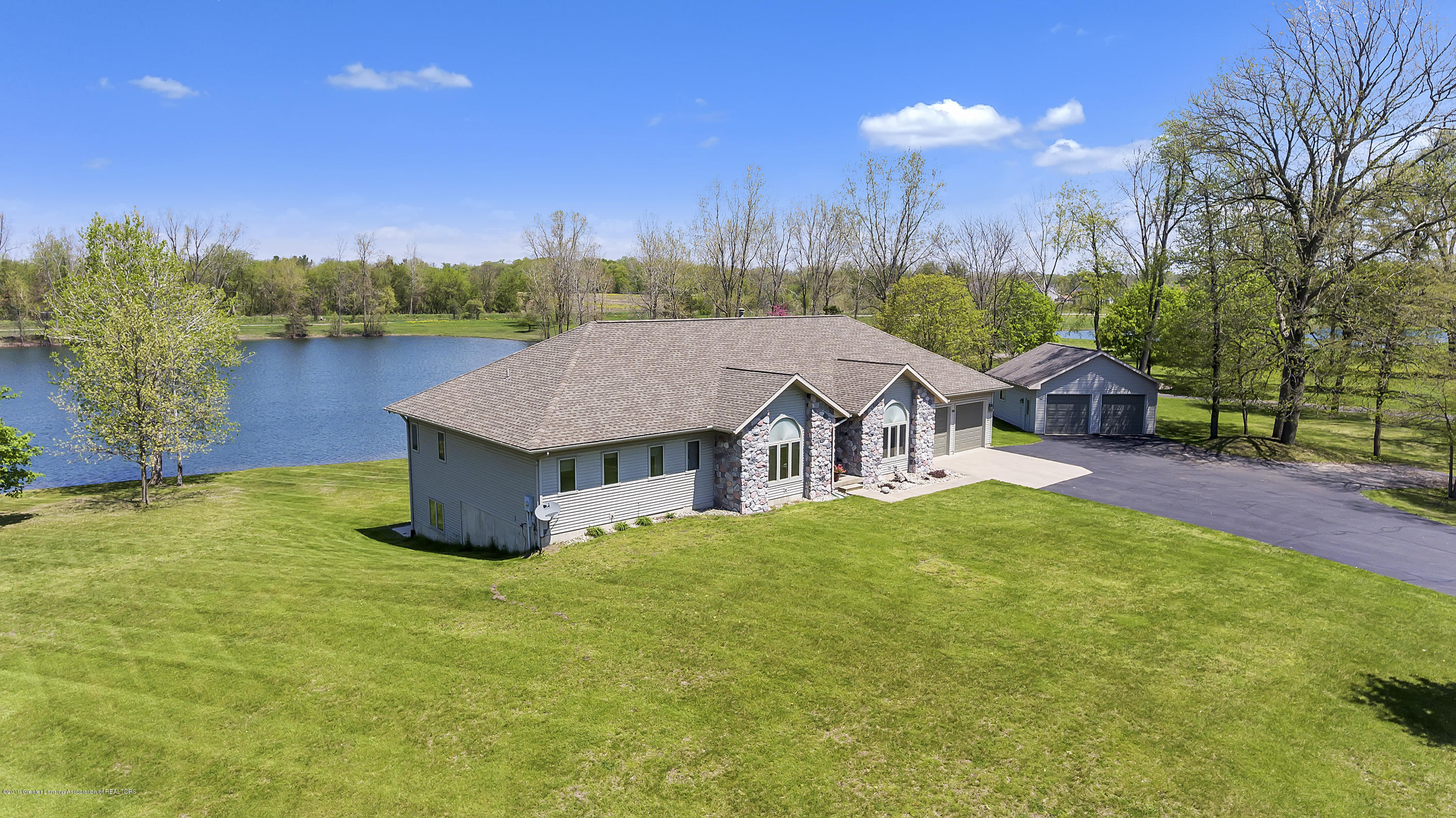 all around view of house:  8558 Ironstone Drive