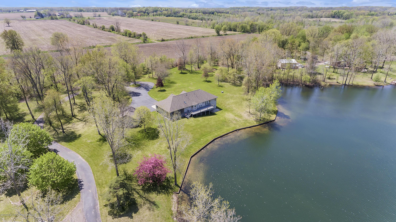 House and lake:  8558 Ironstone Drive