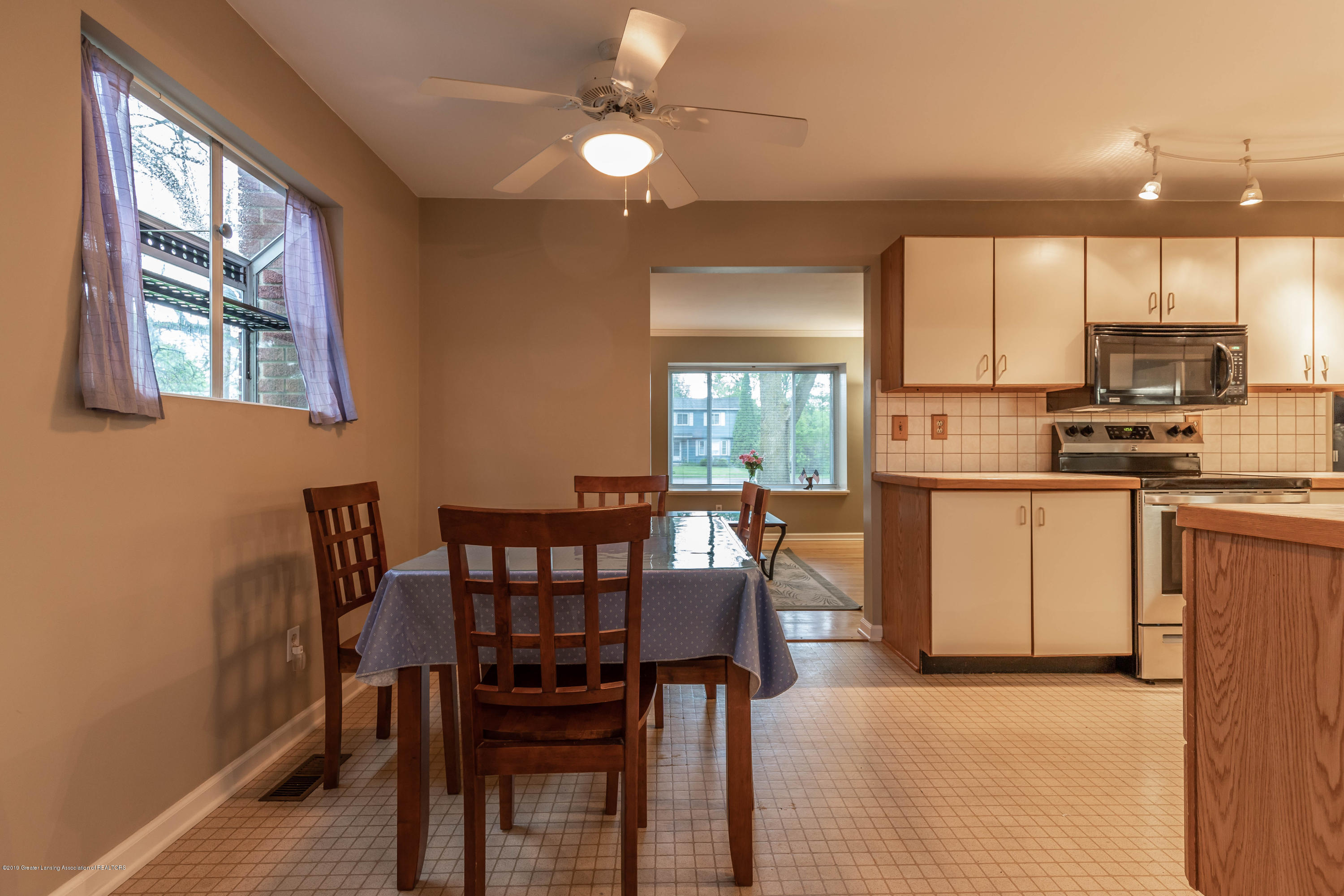Dining area:  1825 N Harrison Road