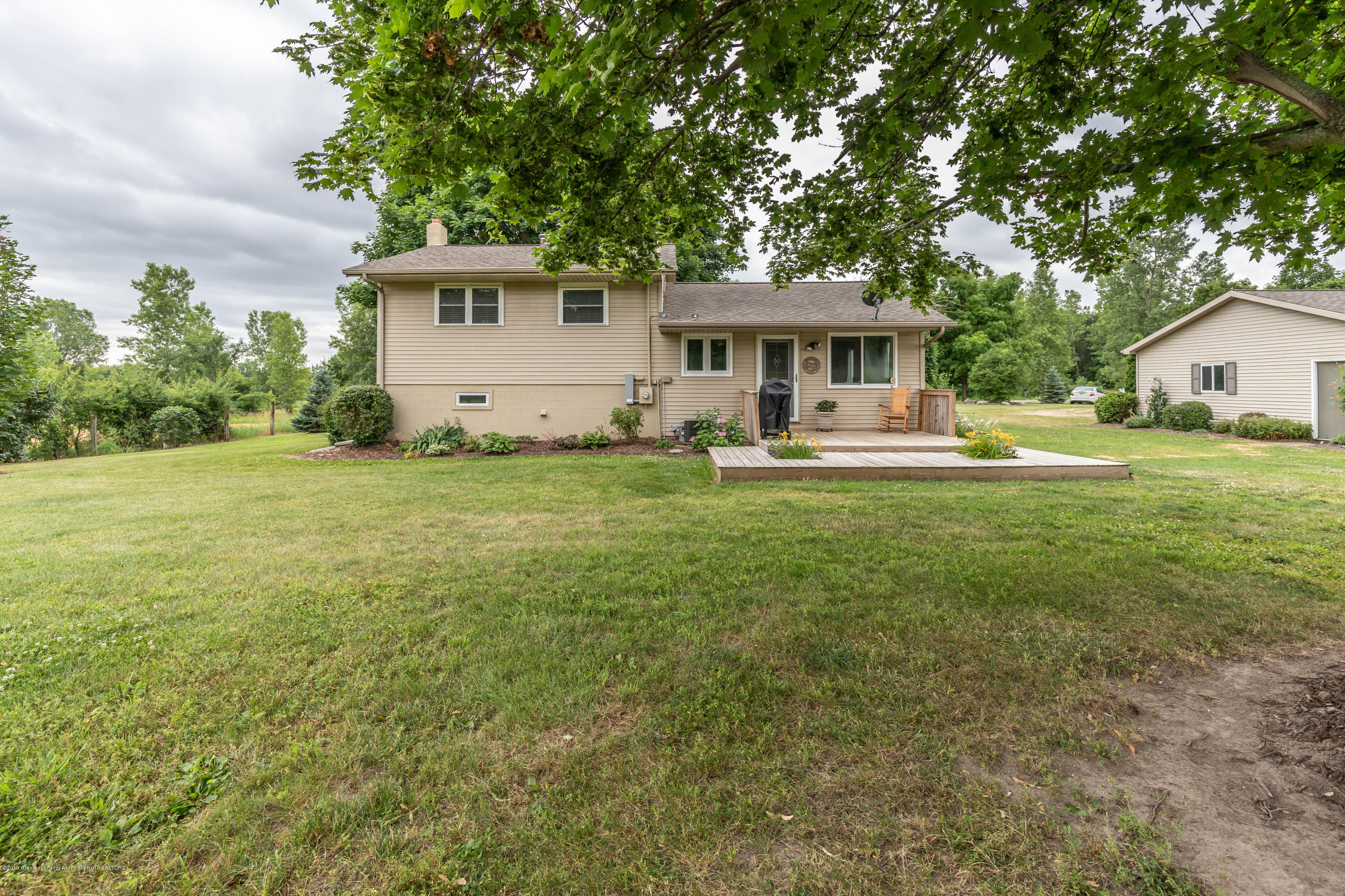 Back of home:  5190 W South County Line Road