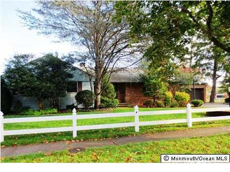 Photo of home for sale at 55 Lake Drive Drive S, Lakewood NJ