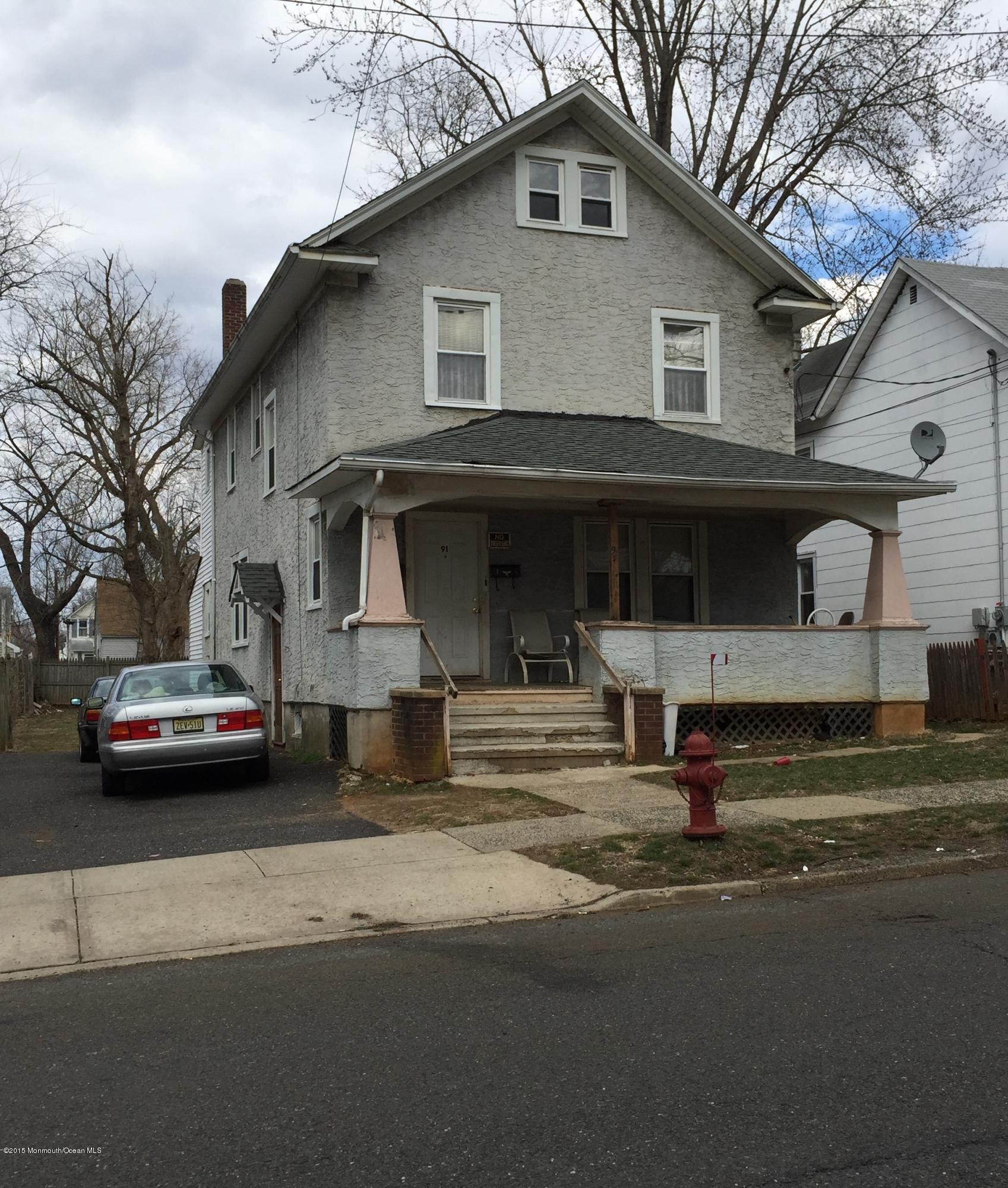 Photo of home for sale at 91 Center Street Street, Freehold NJ