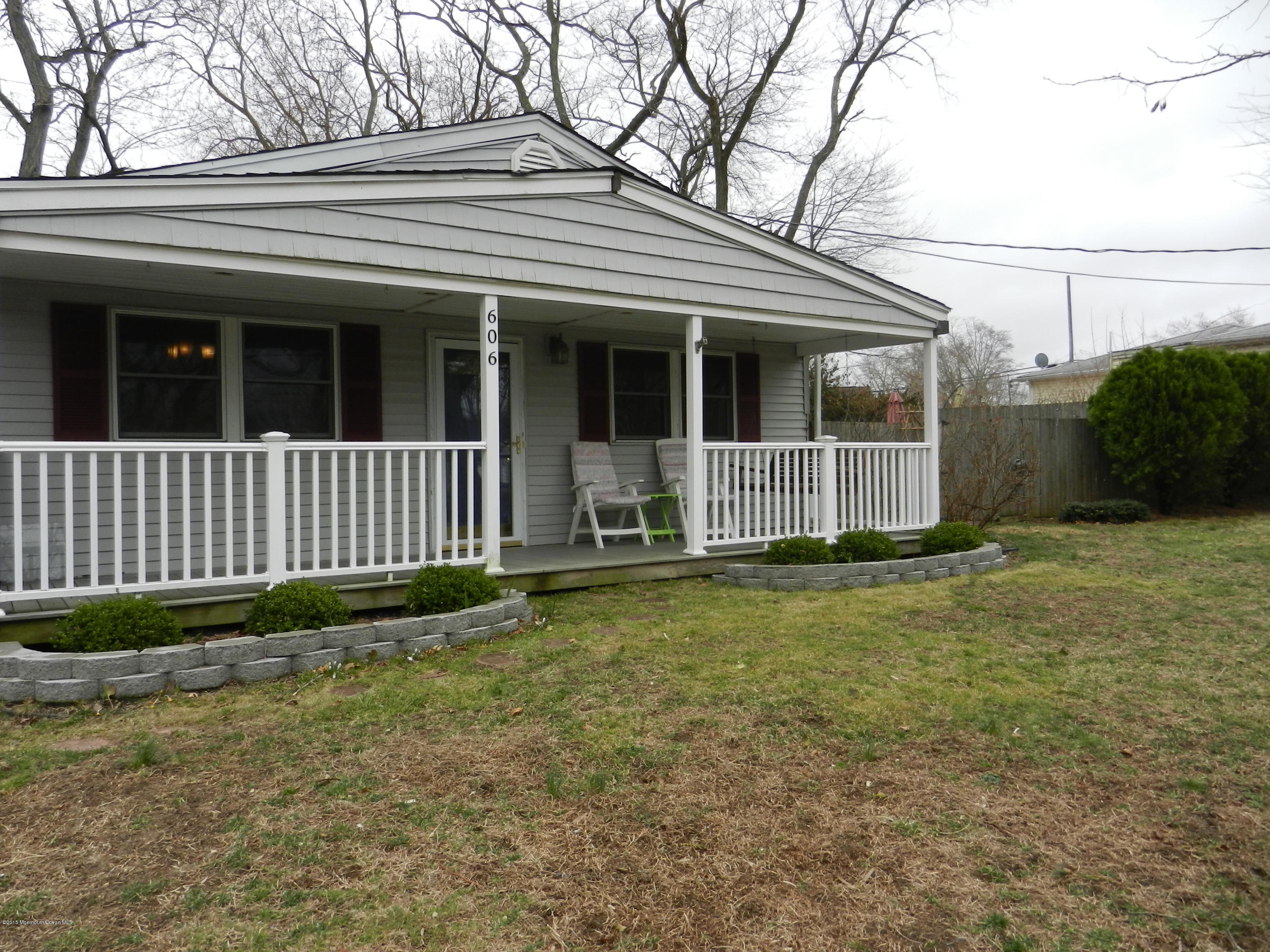 Photo of home for sale at 606 Wayside Road Road, Neptune Township NJ
