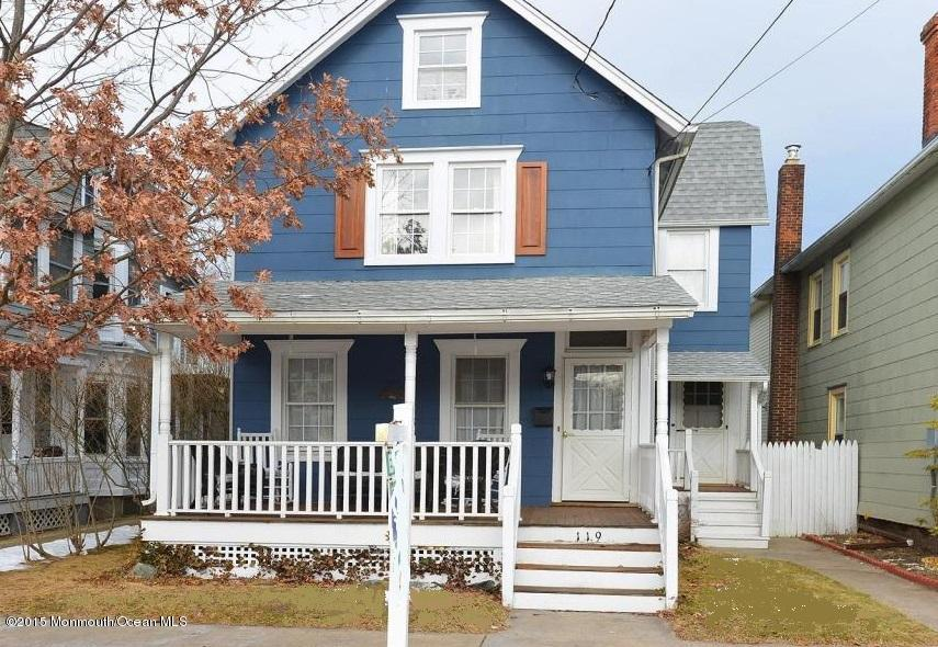 Photo of home for sale at 119 Broadway, Ocean Grove NJ