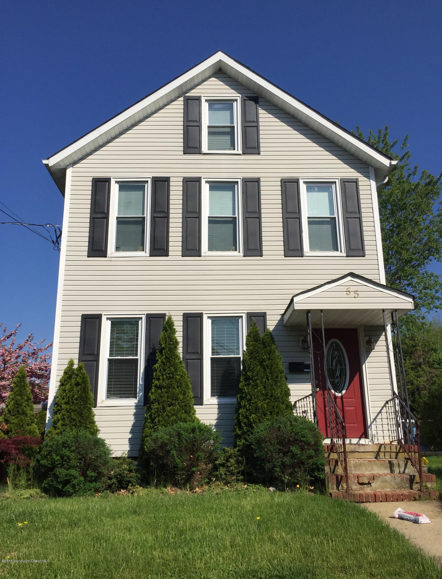 Photo of home for sale at 55 Bowne Avenue Avenue, Freehold NJ