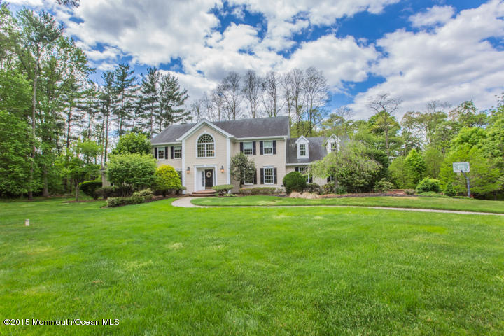 Photo of home for sale at 36 Lake Drive Drive, Colts Neck NJ