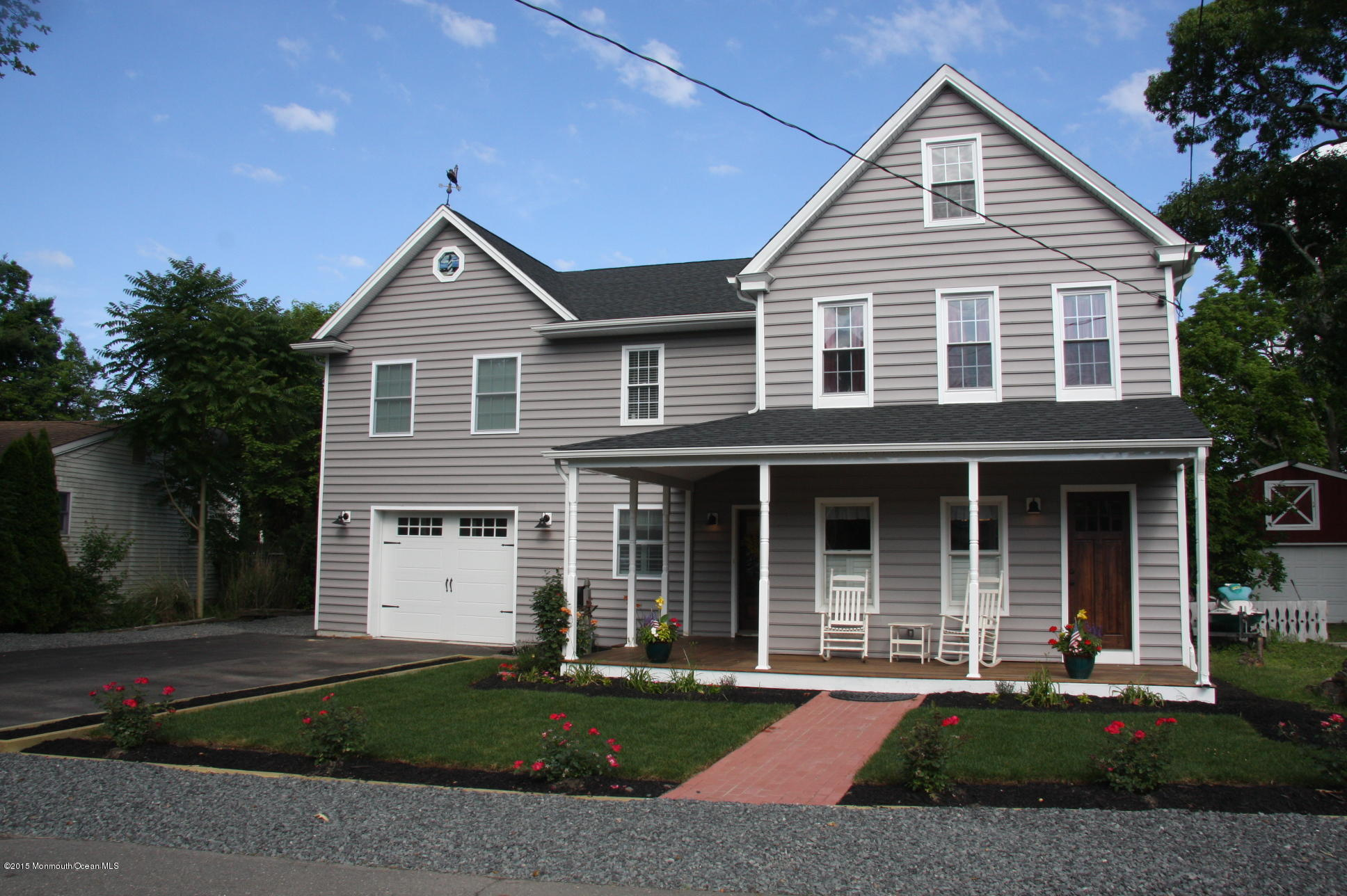 Photo of home for sale at 1227 Johnson Avenue Avenue, Point Pleasant NJ