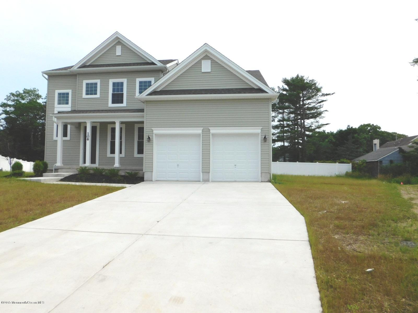 Photo of home for sale at 106 Captain Giglio Way Way, Forked River NJ