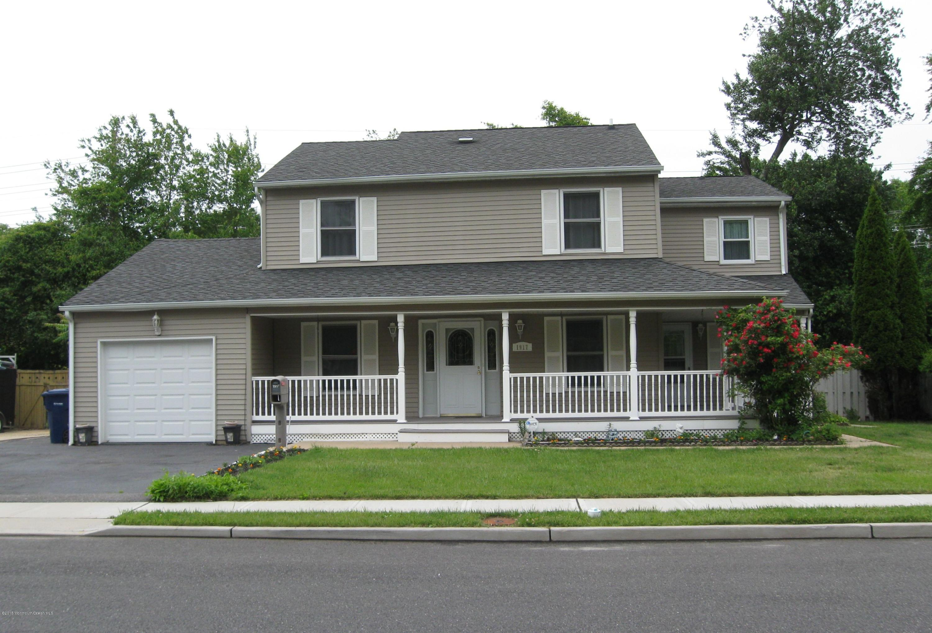 Photo of home for sale at 1917 Millbrook Avenue Avenue, Neptune Township NJ
