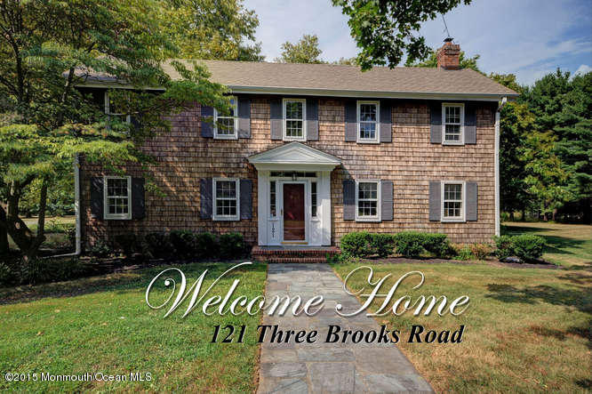 Photo of home for sale at 121 Three Brooks Road Road, Freehold NJ