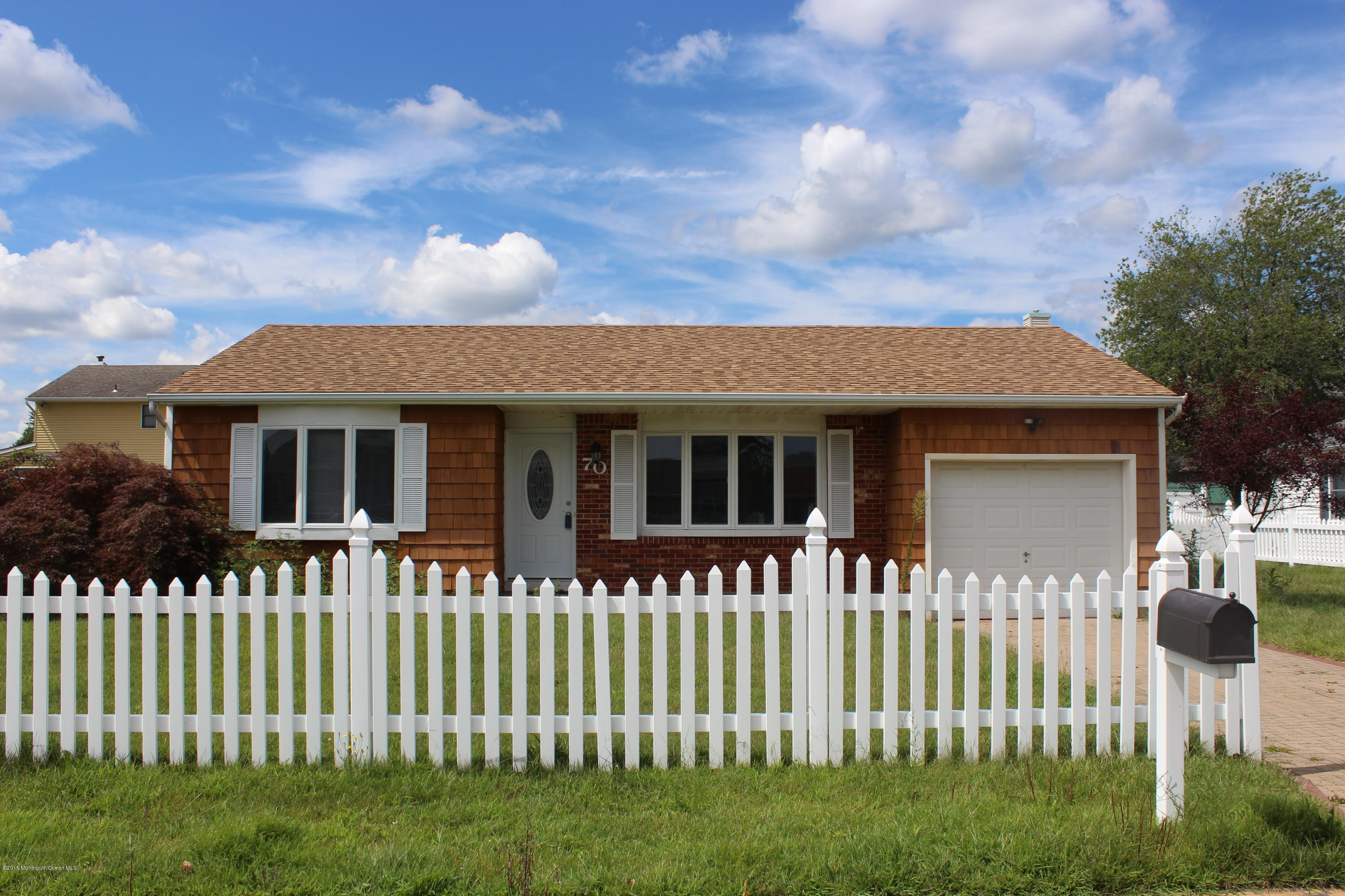Photo of home for sale at 70 16th Street Street, Toms River NJ