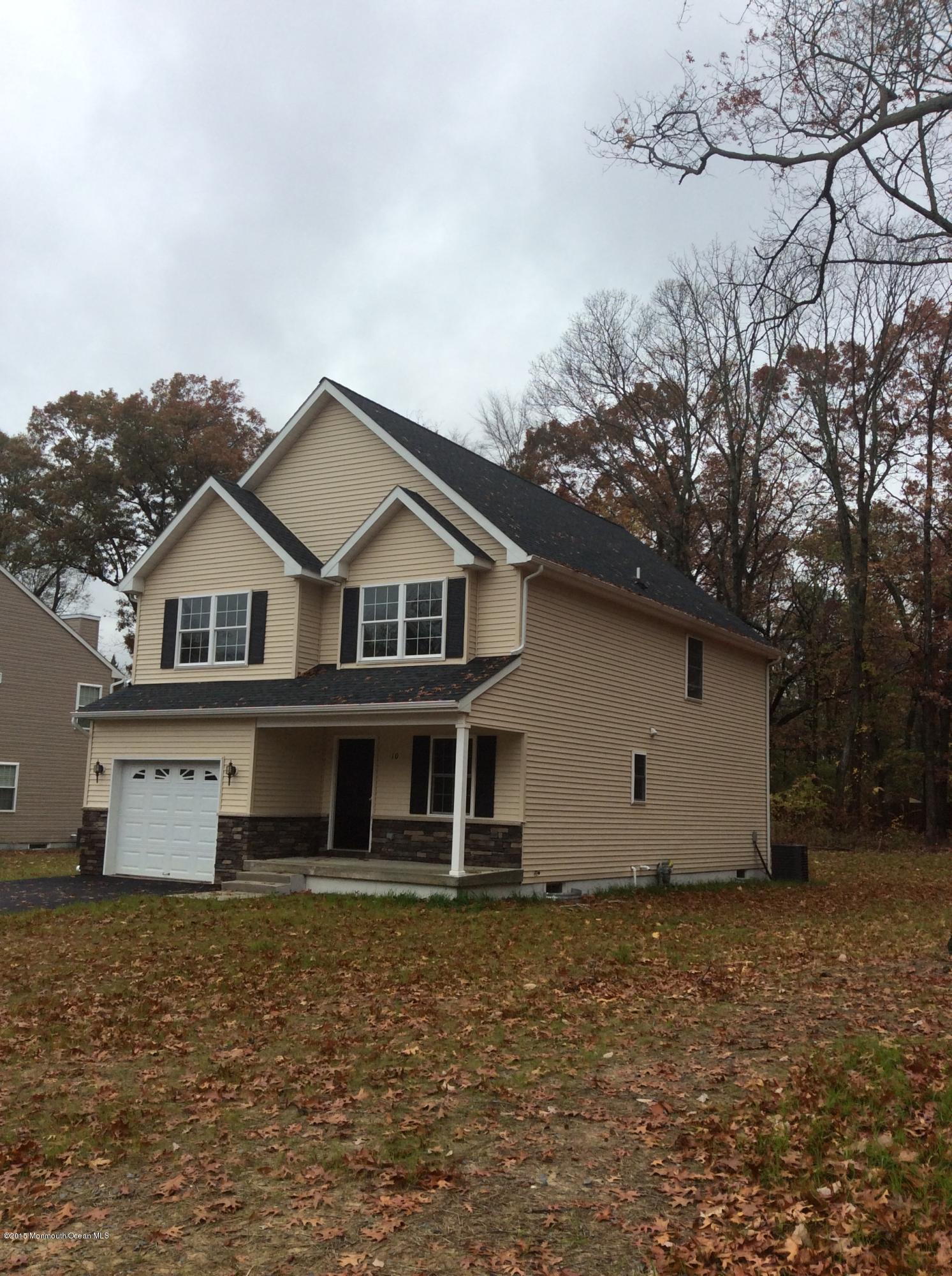 Photo of home for sale at 10 Benson Street Street E, Tinton Falls NJ