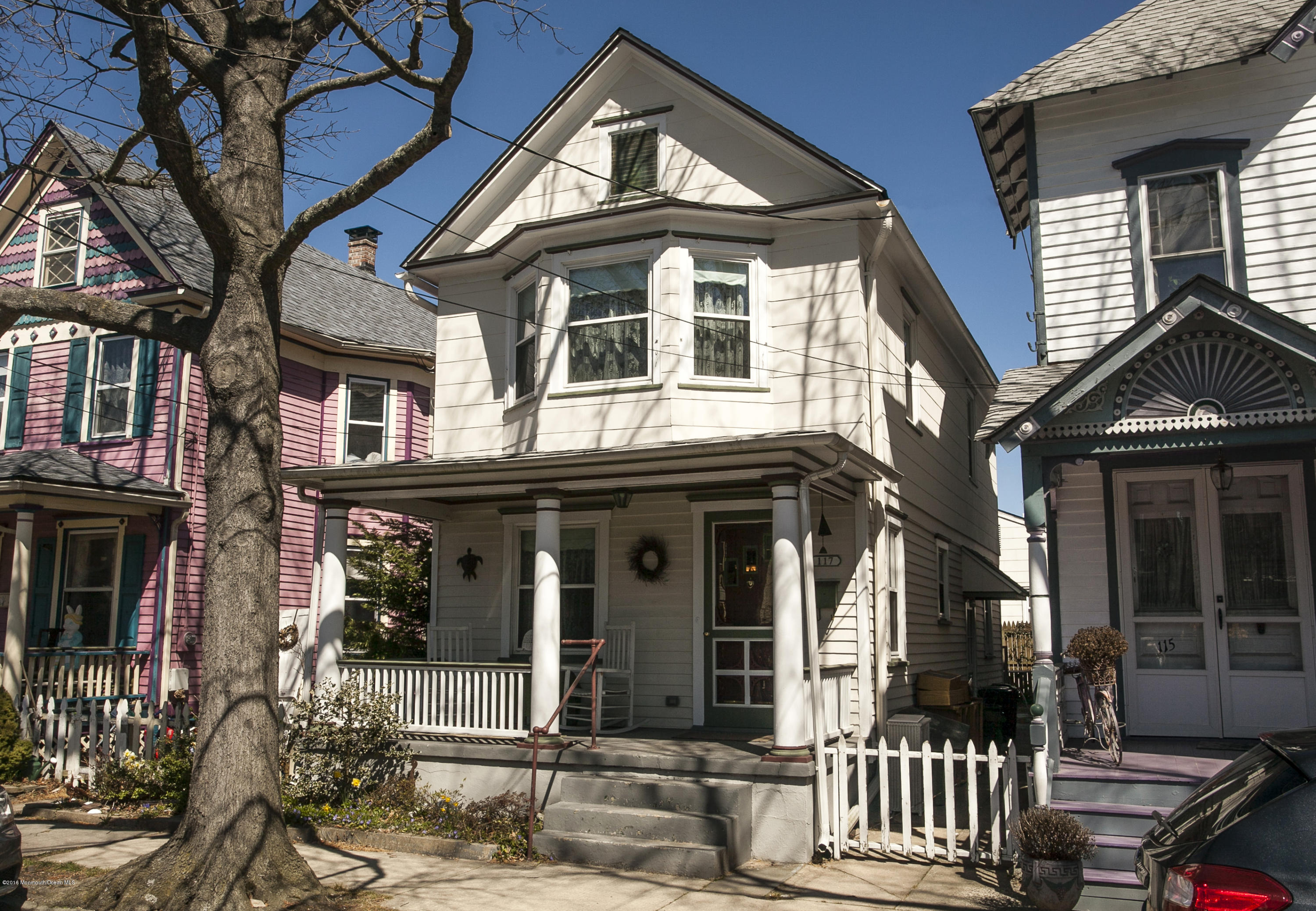 Photo of home for sale at 117 Mount Hermon Way Way, Ocean Grove NJ