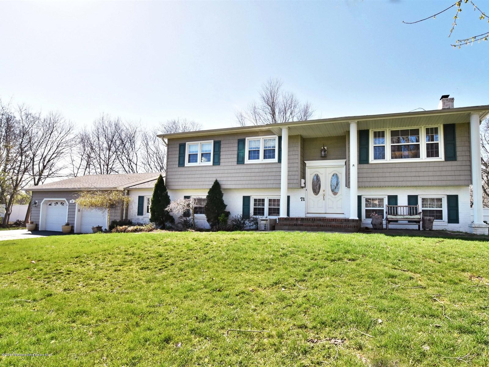 Photo of home for sale at 71 Burki Place Place, Freehold NJ
