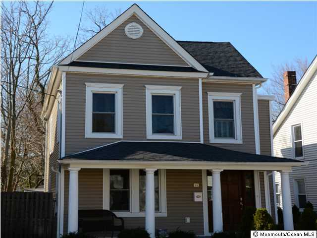 Photo of home for sale at 84 Linden Place Place, Red Bank NJ