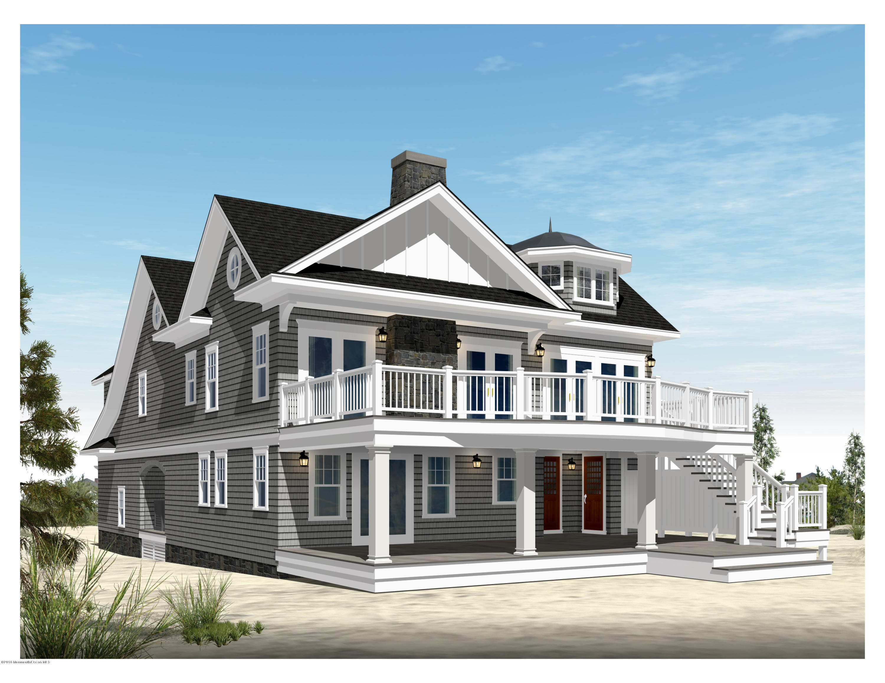 Photo of home for sale at 1202 Ocean Avenue Avenue, Point Pleasant Beach NJ