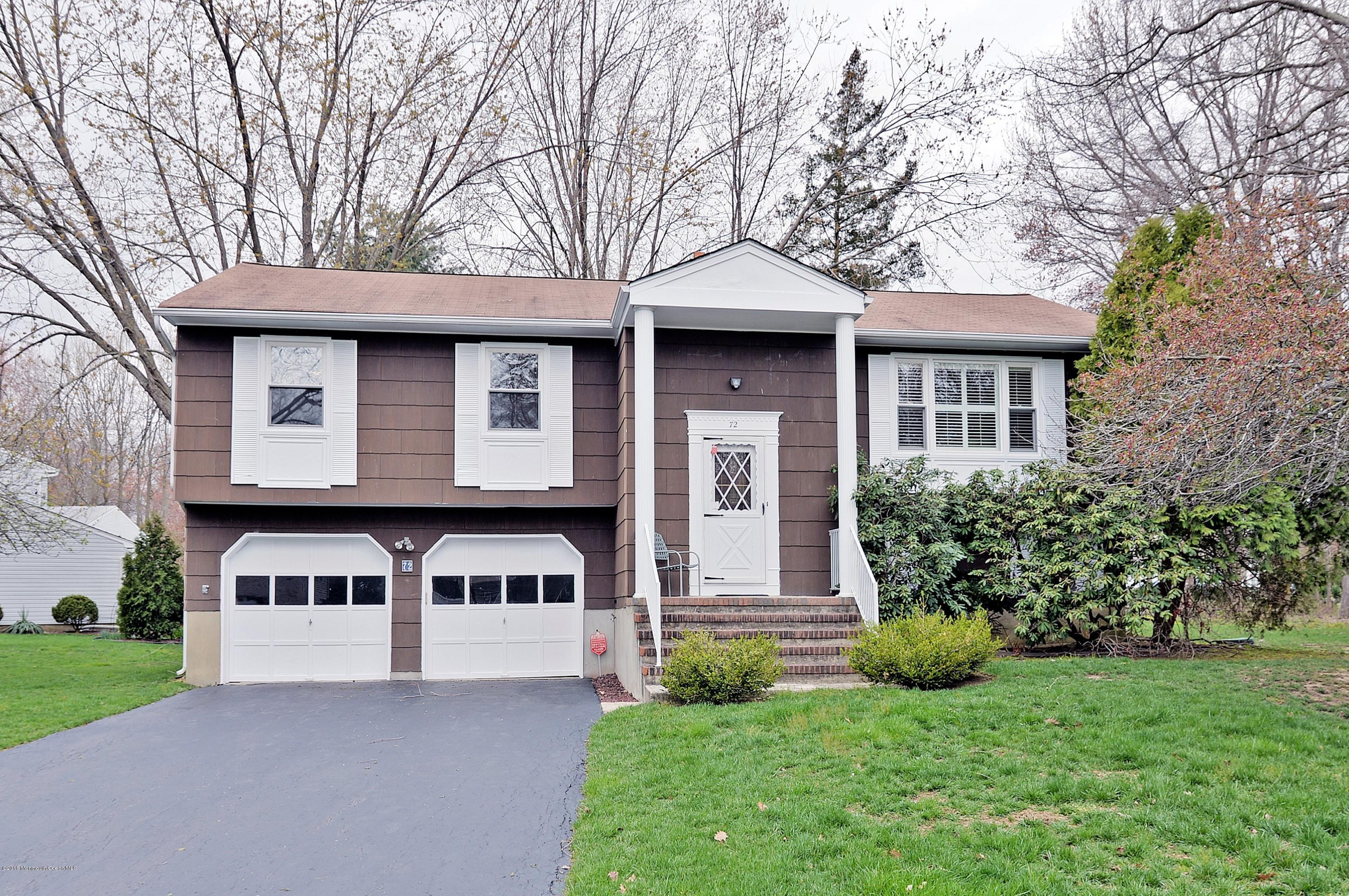 Photo of home for sale at 72 Yorke Drive Drive, Freehold NJ